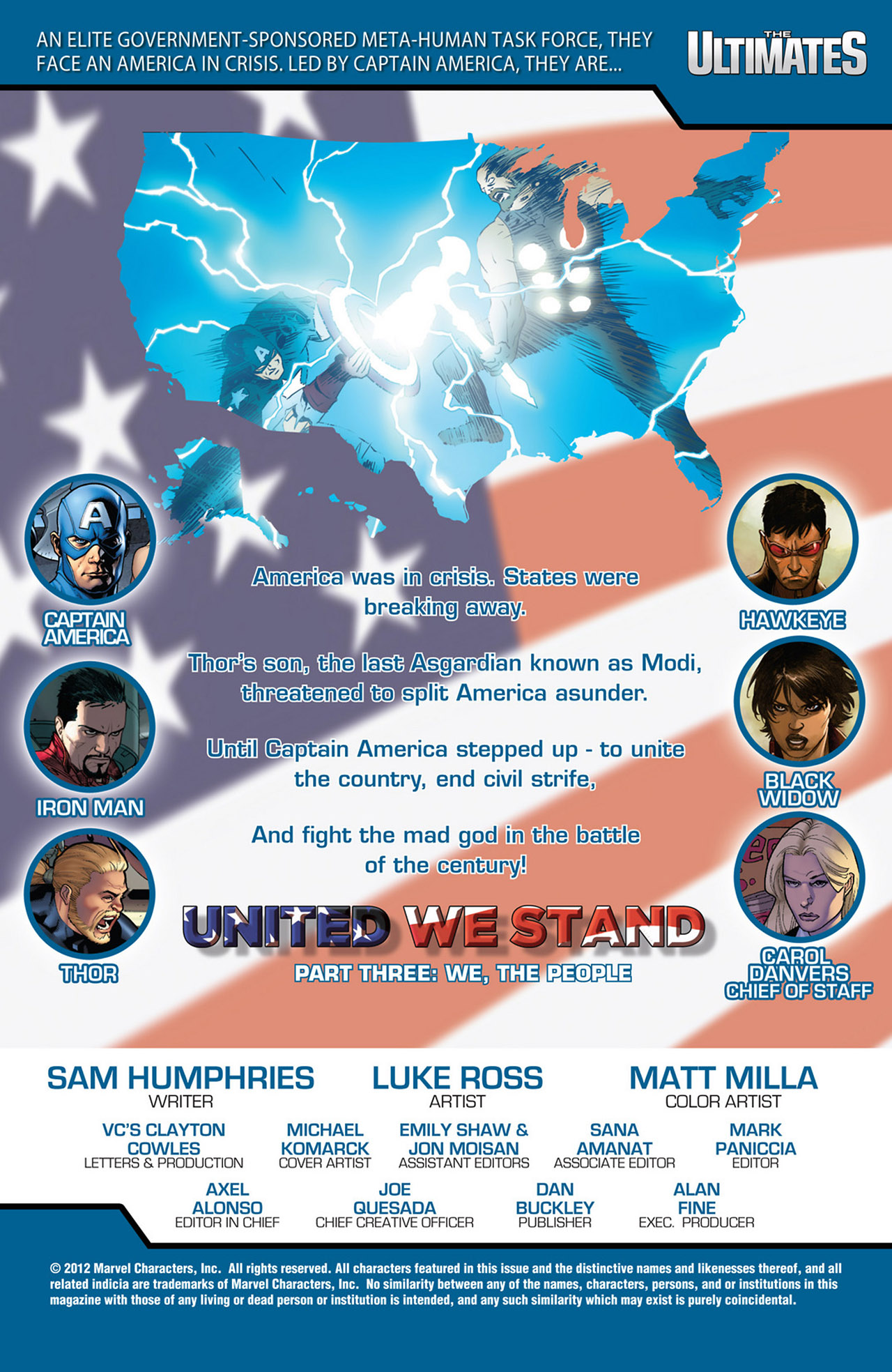 Read online Ultimate Comics Ultimates comic -  Issue #18 - 2