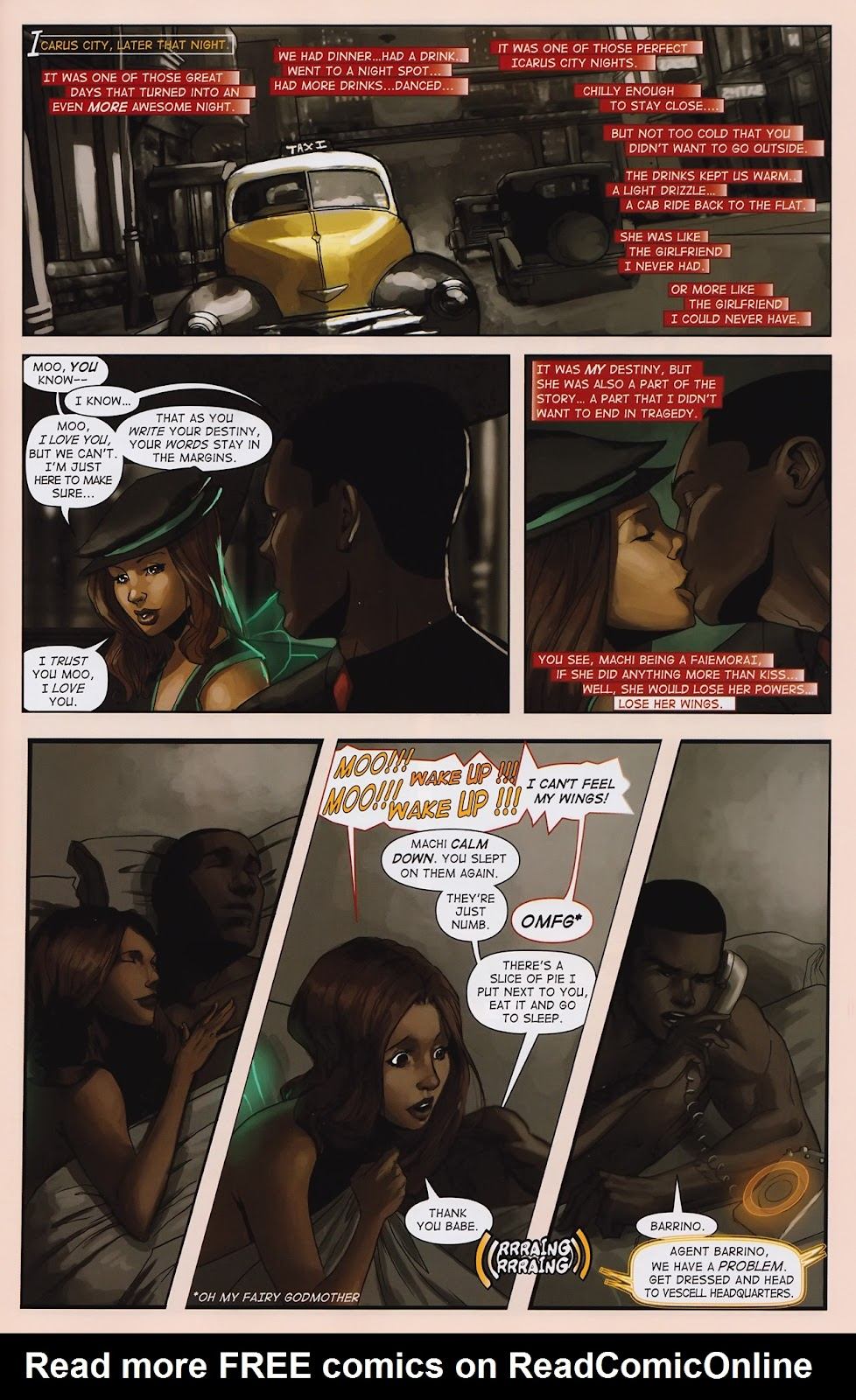 Read online Vescell comic -  Issue #2 - 5