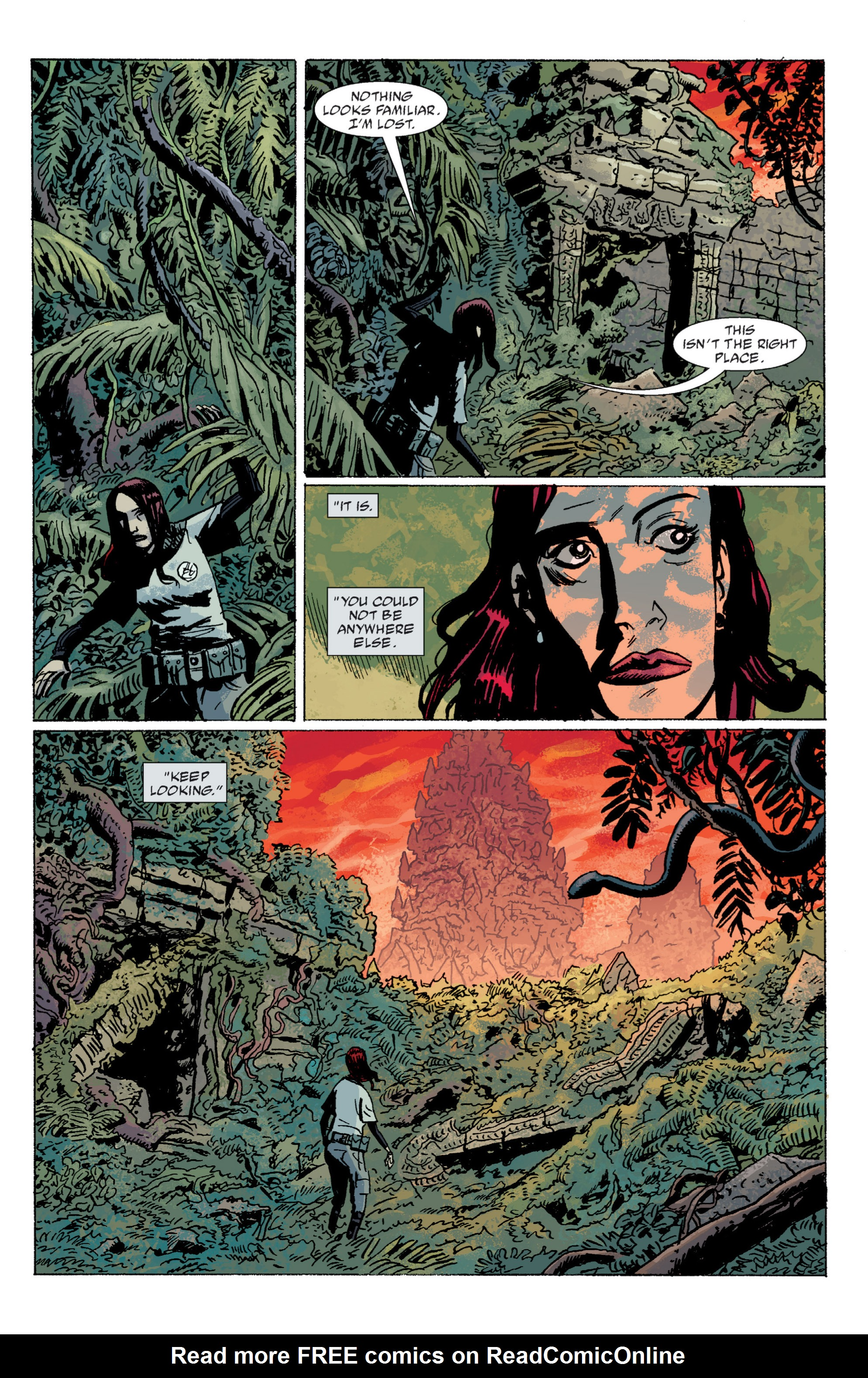 Read online B.P.R.D. (2003) comic -  Issue # TPB 5 - 120