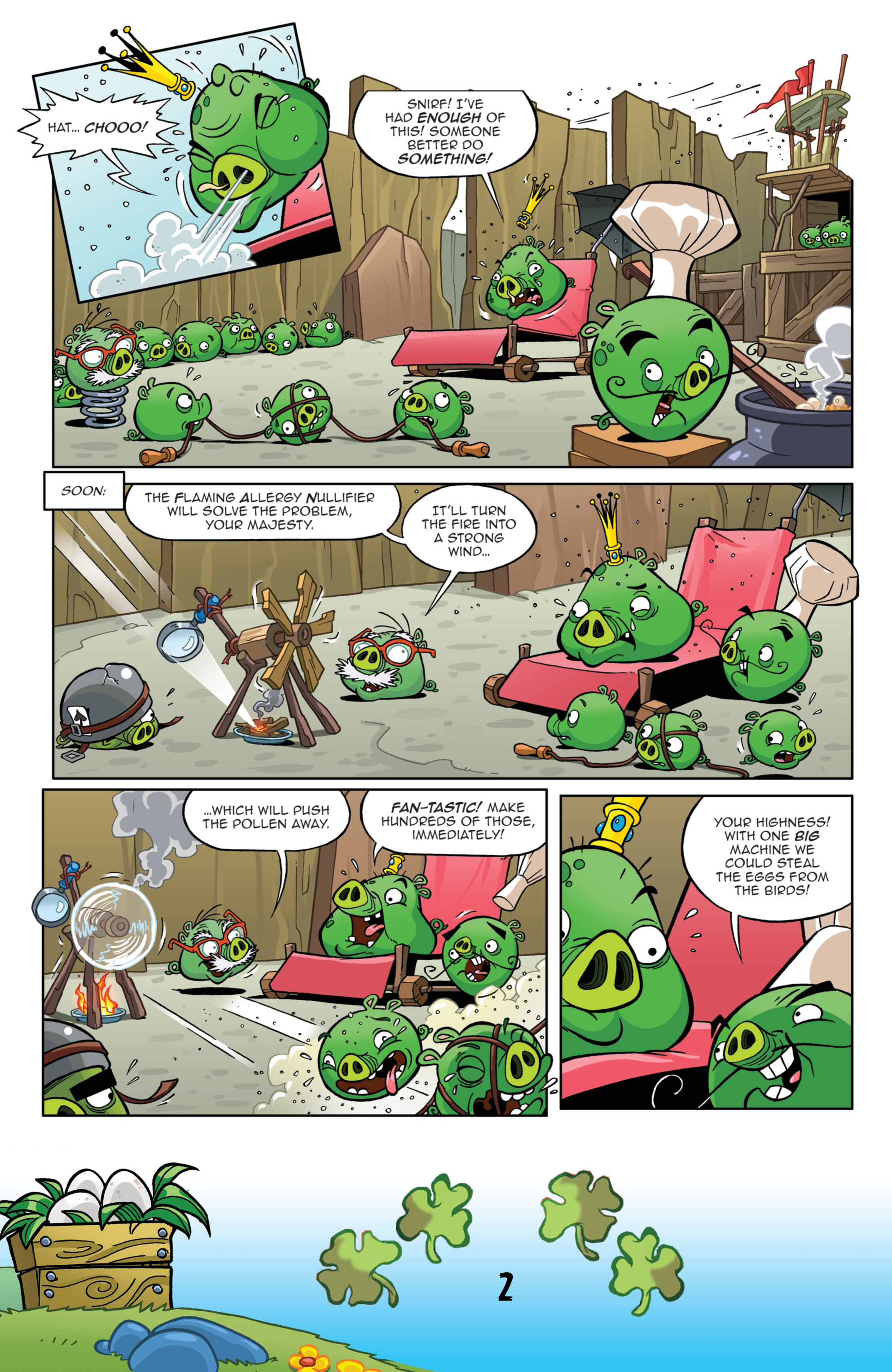 Read online Angry Birds Comics (2016) comic -  Issue #3 - 4