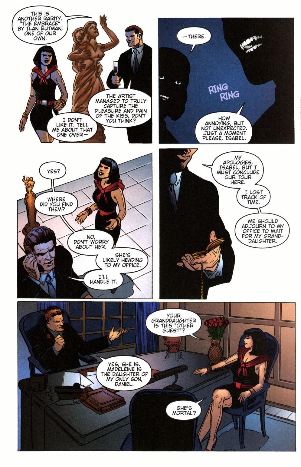 Read online Vampire the Masquerade comic -  Issue # Giovanni - 11