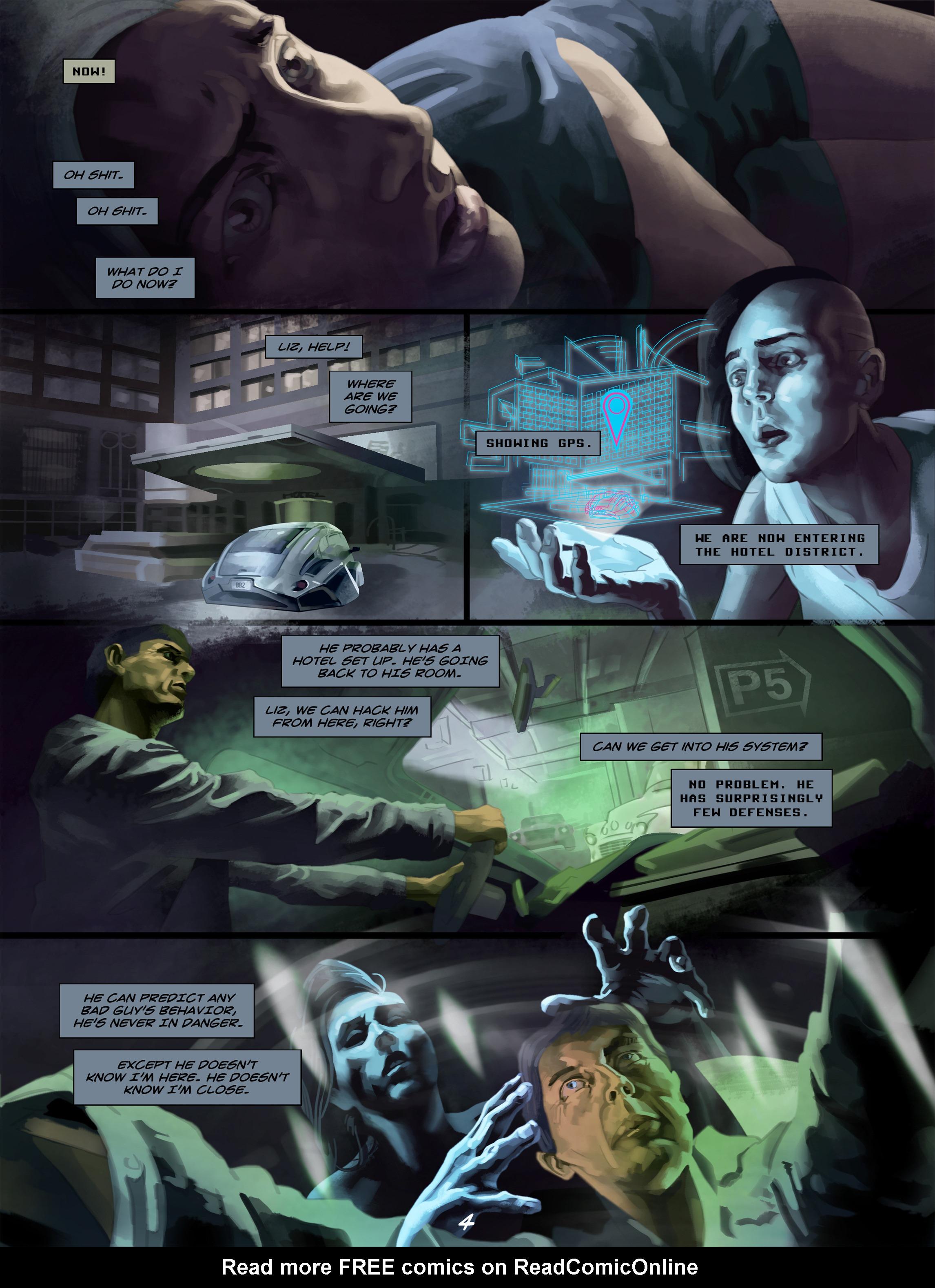 Read online Wynter comic -  Issue #5 - 5