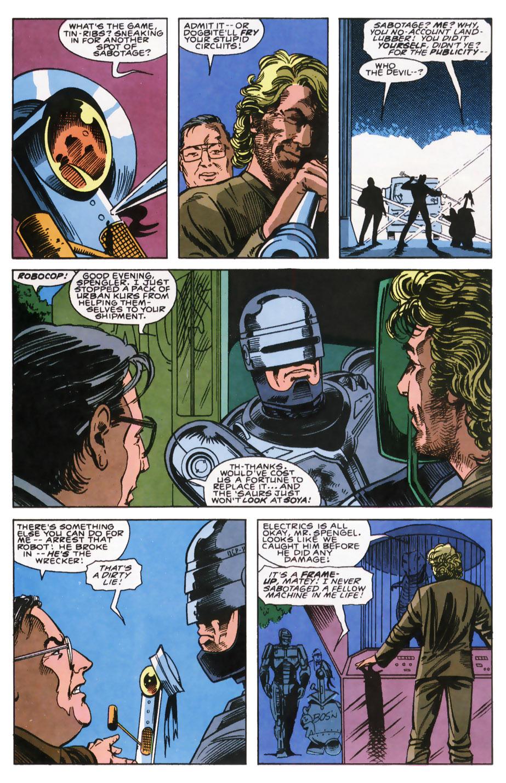 Read online Robocop (1990) comic -  Issue #7 - 13
