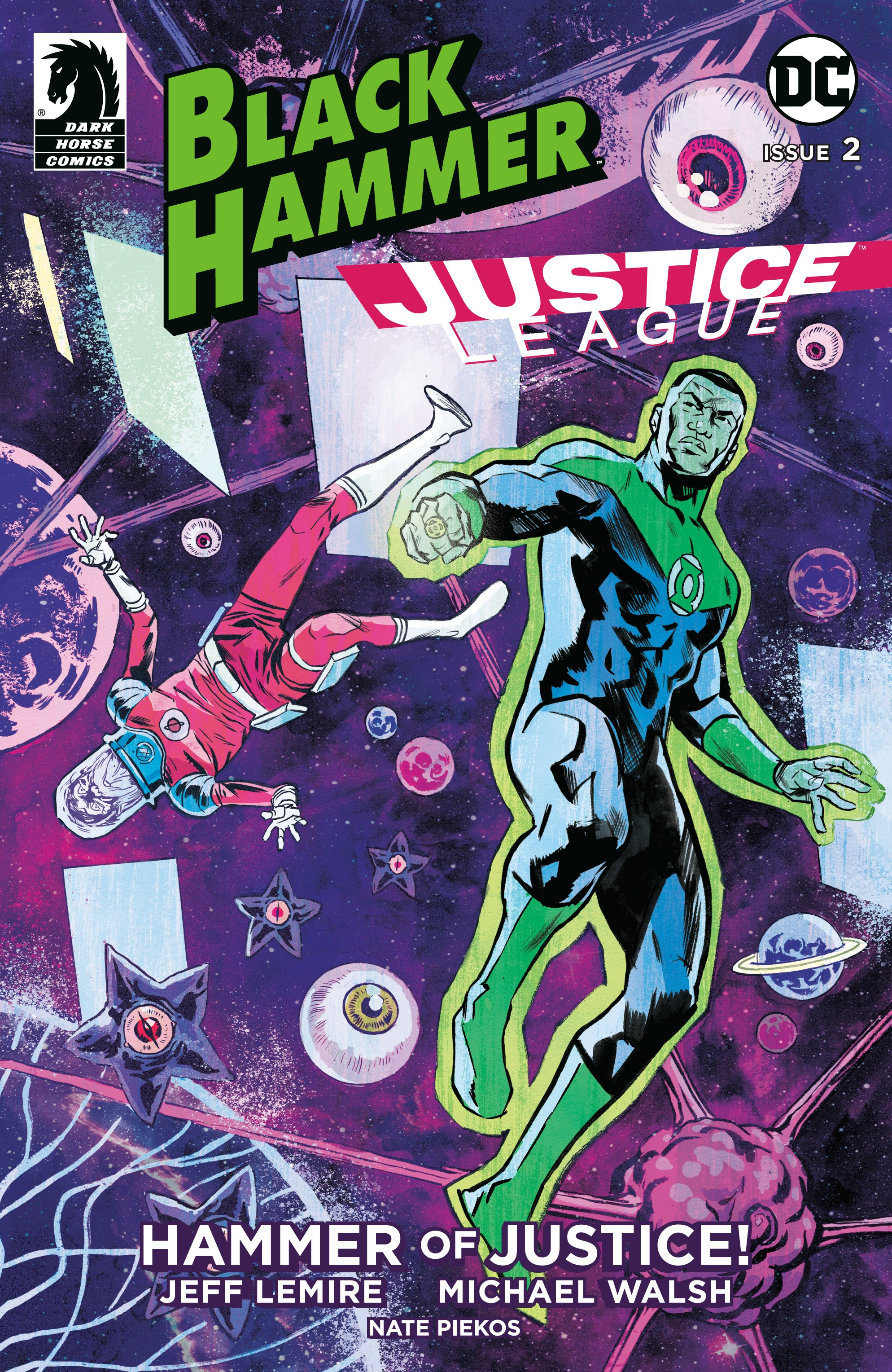 Black Hammer/Justice League: Hammer of Justice! 2 Page 1
