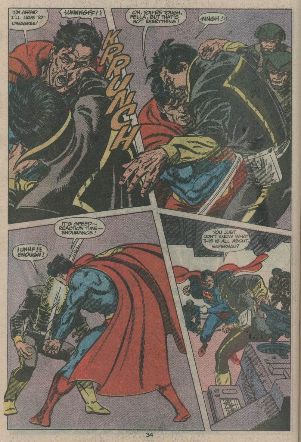 Read online Adventures of Superman (1987) comic -  Issue #Adventures of Superman (1987) _Annual 2 - 34