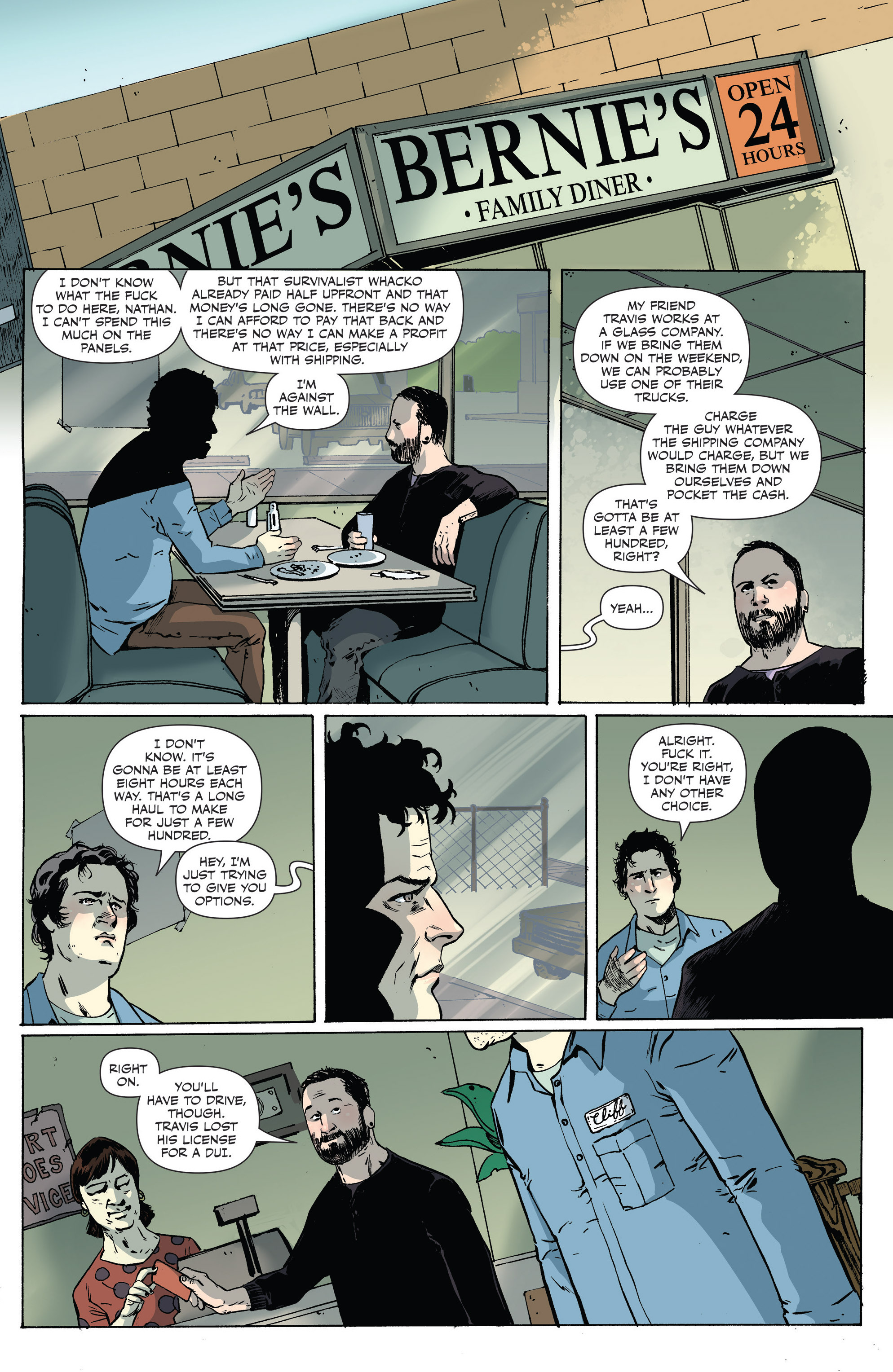 Read online Sheltered comic -  Issue #6 - 6