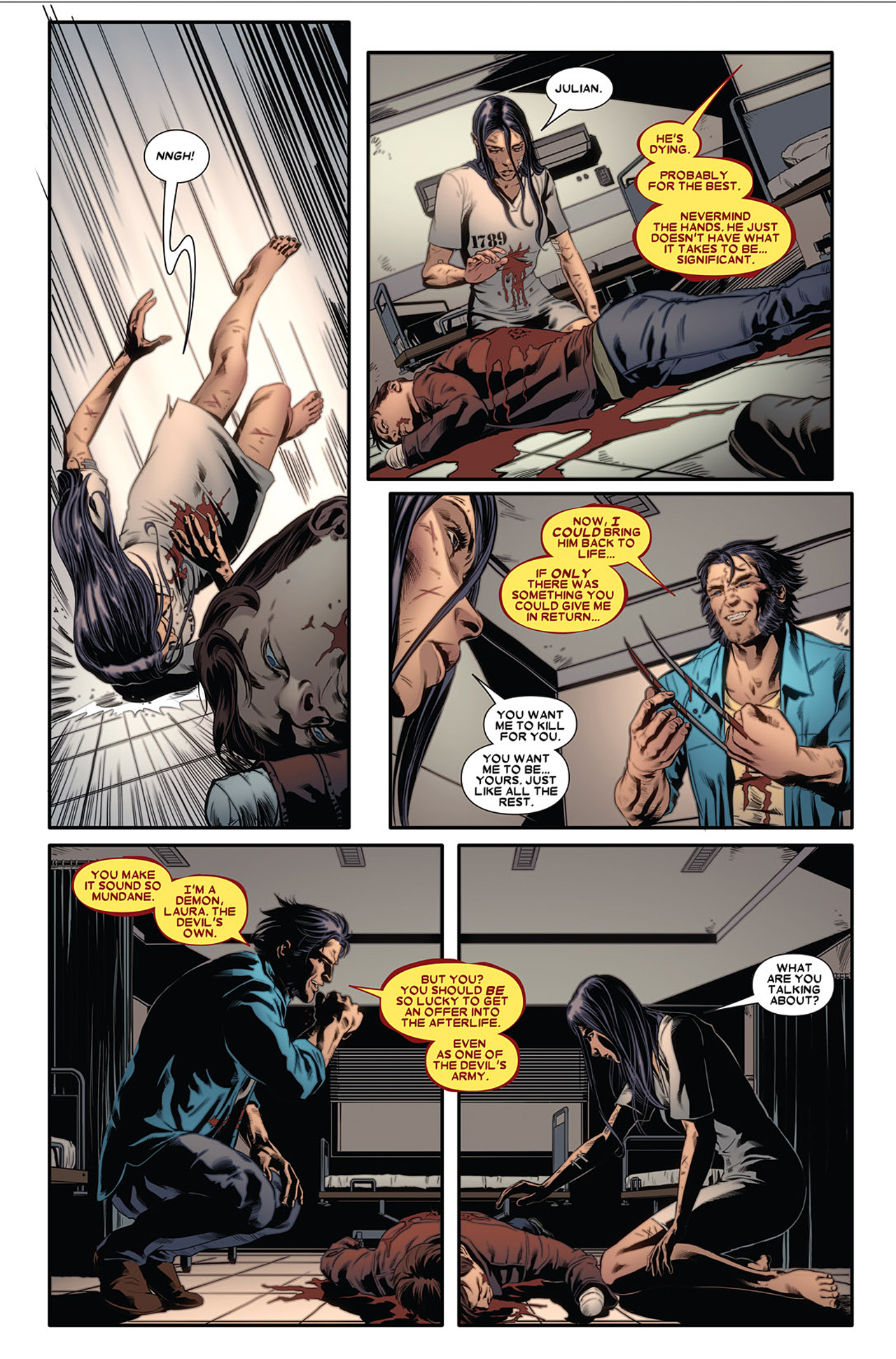 Read online X-23 (2010) comic -  Issue #2 - 20
