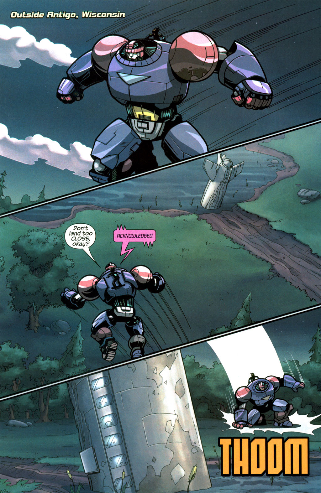 Read online Sentinel comic -  Issue #8 - 5