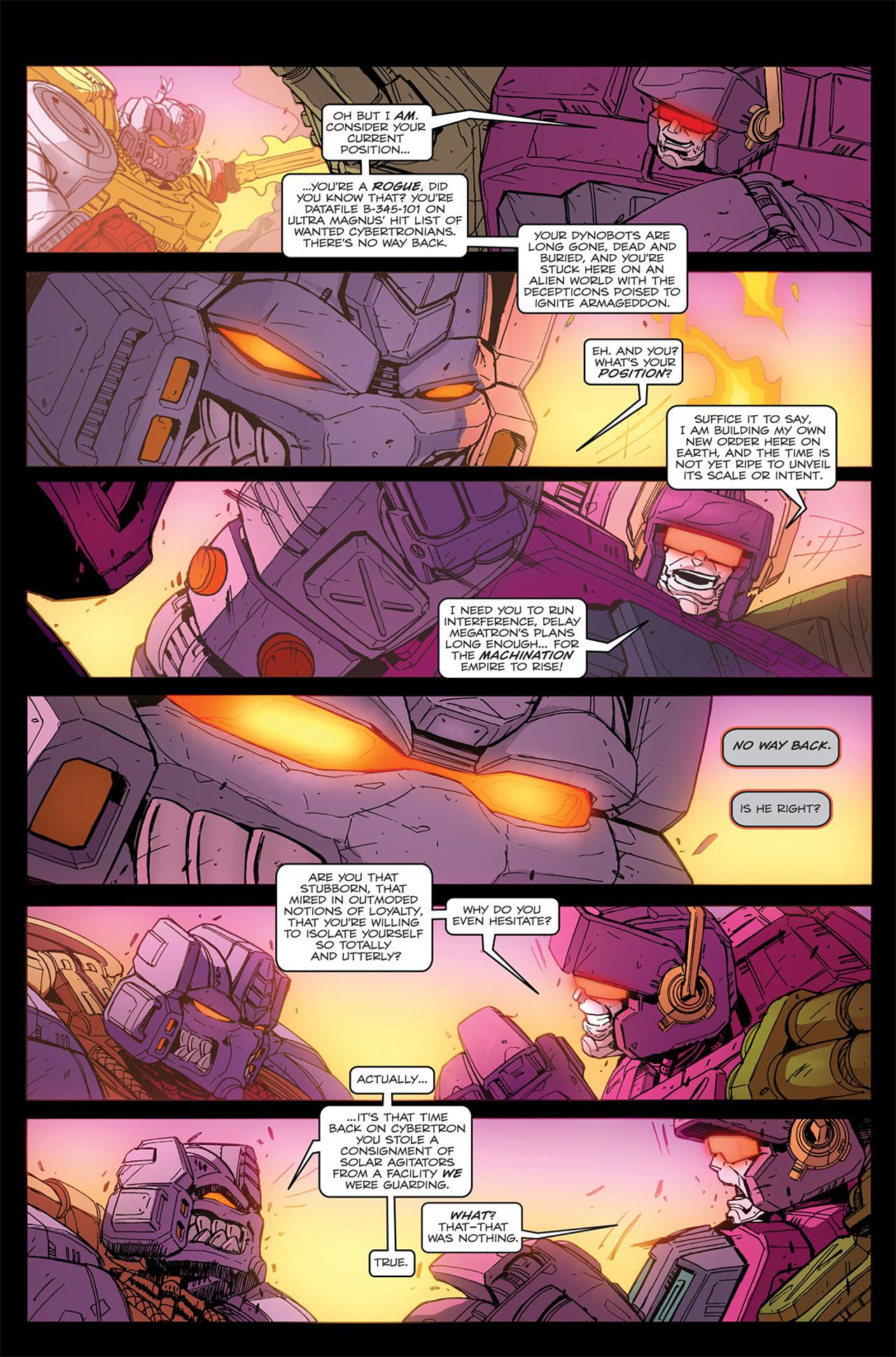 Read online Transformers Spotlight: Grimlock comic -  Issue # Full - 19