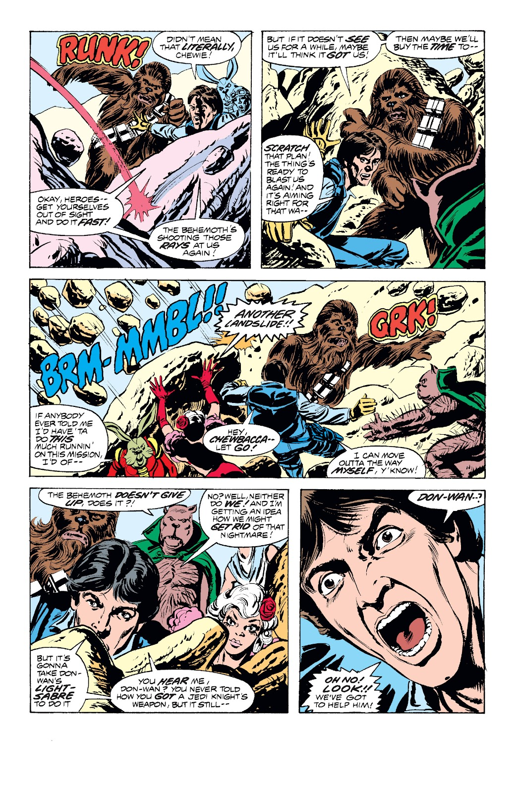 Read online Star Wars Legends: The Original Marvel Years - Epic Collection comic -  Issue # TPB 1 (Part 2) - 81