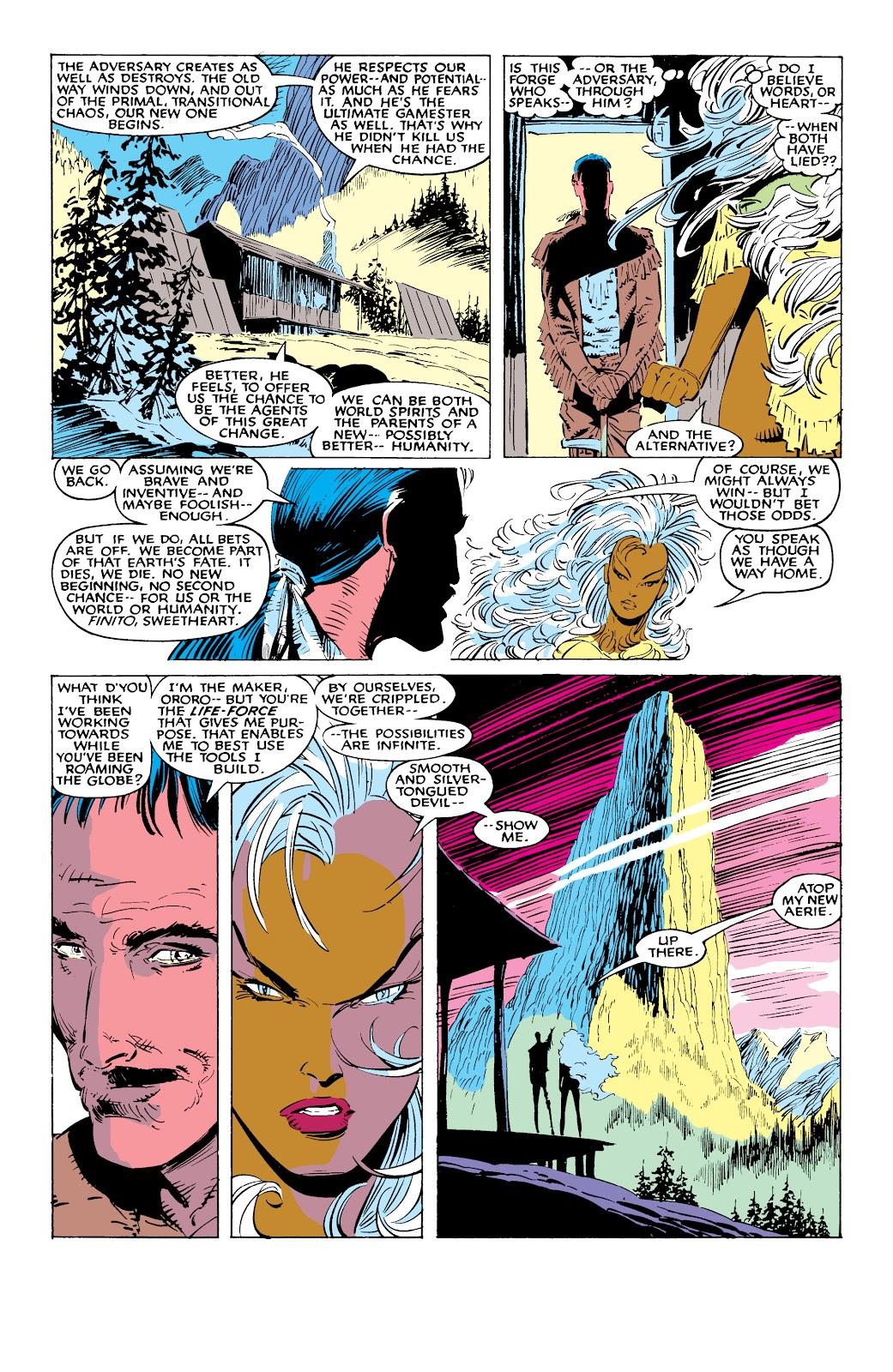 Read online X-Men Milestones: Fall of the Mutants comic -  Issue # TPB (Part 1) - 58