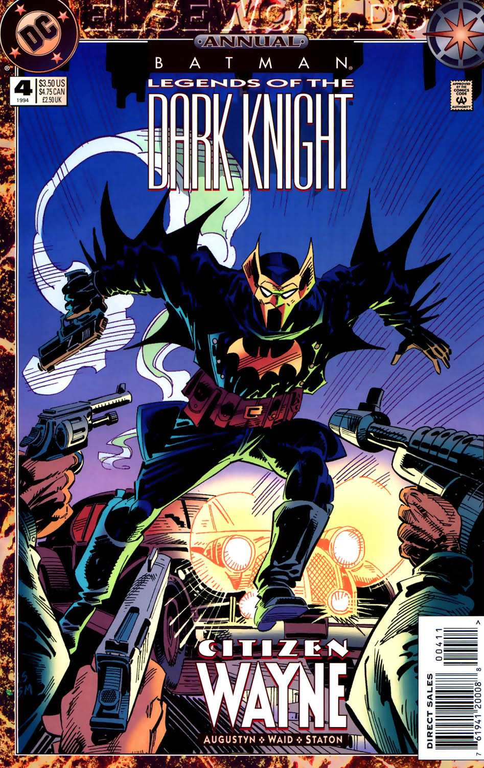 Batman: Legends of the Dark Knight _Annual_4 Page 1