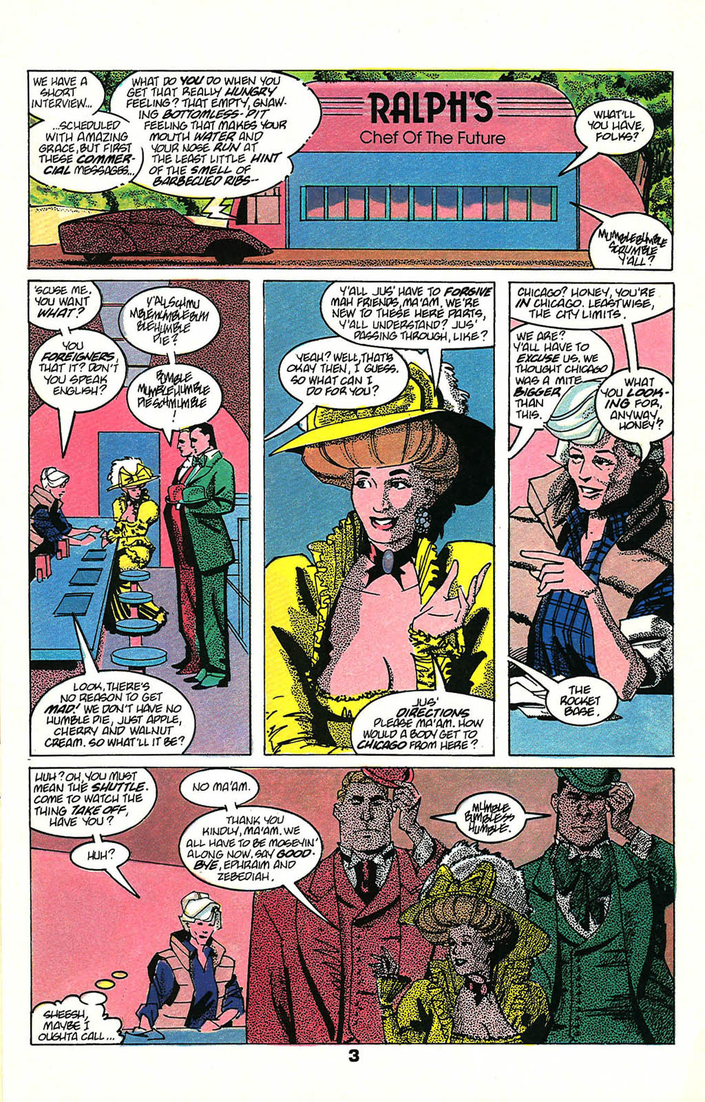 Read online American Flagg! comic -  Issue #48 - 5