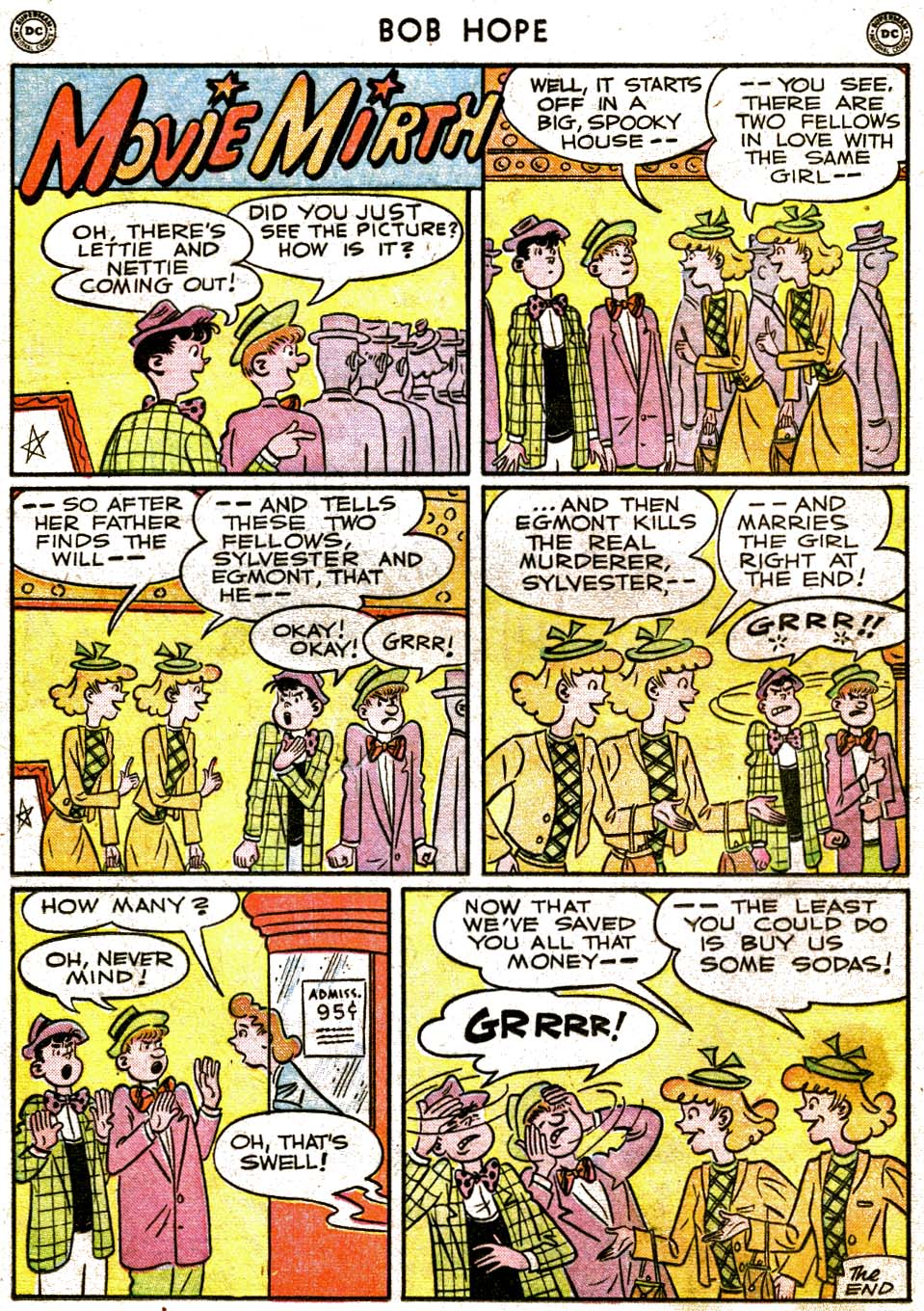 The Adventures of Bob Hope issue 1 - Page 16