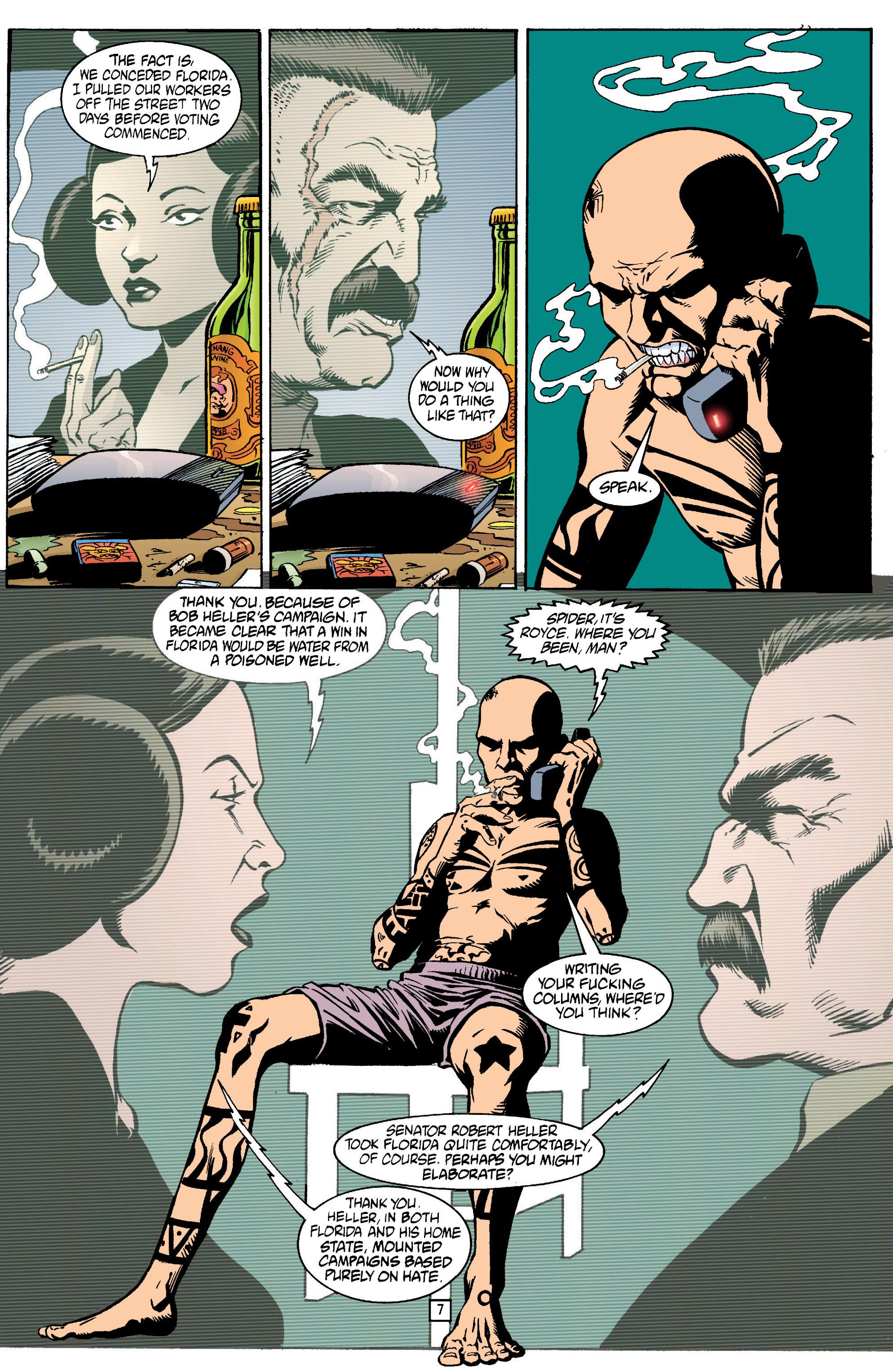 Read online Transmetropolitan comic -  Issue #13 - 8