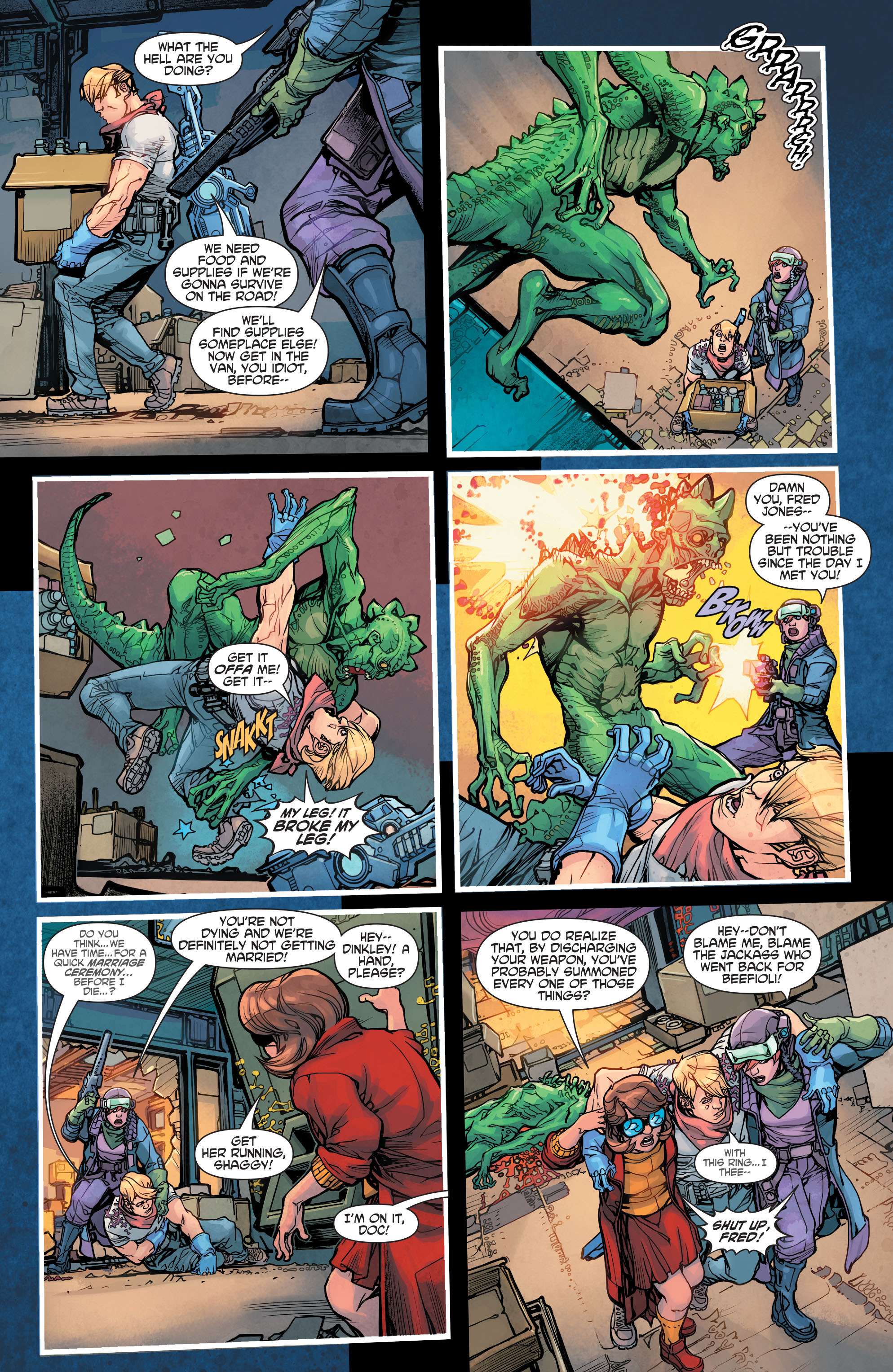 Read online Scooby Apocalypse comic -  Issue #7 - 21
