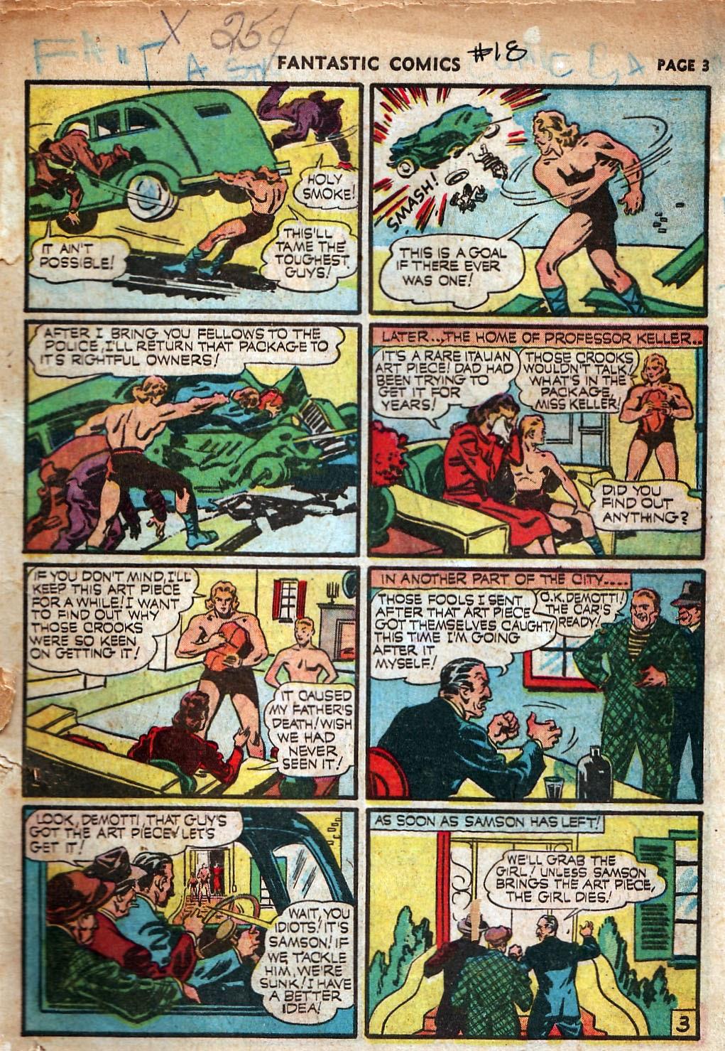 Read online Fantastic Comics comic -  Issue #18 - 5