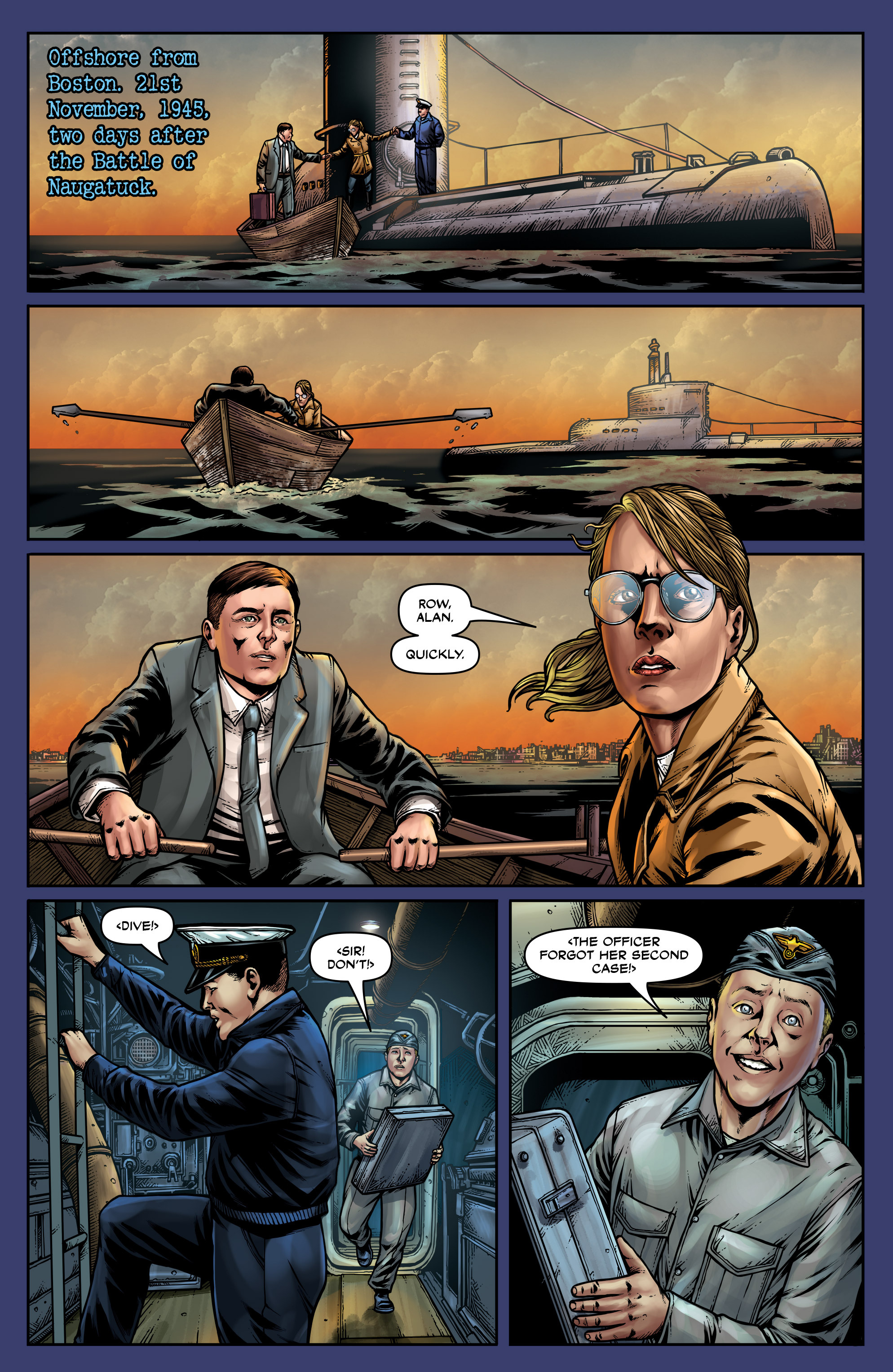 Read online Uber: Invasion comic -  Issue #4 - 23