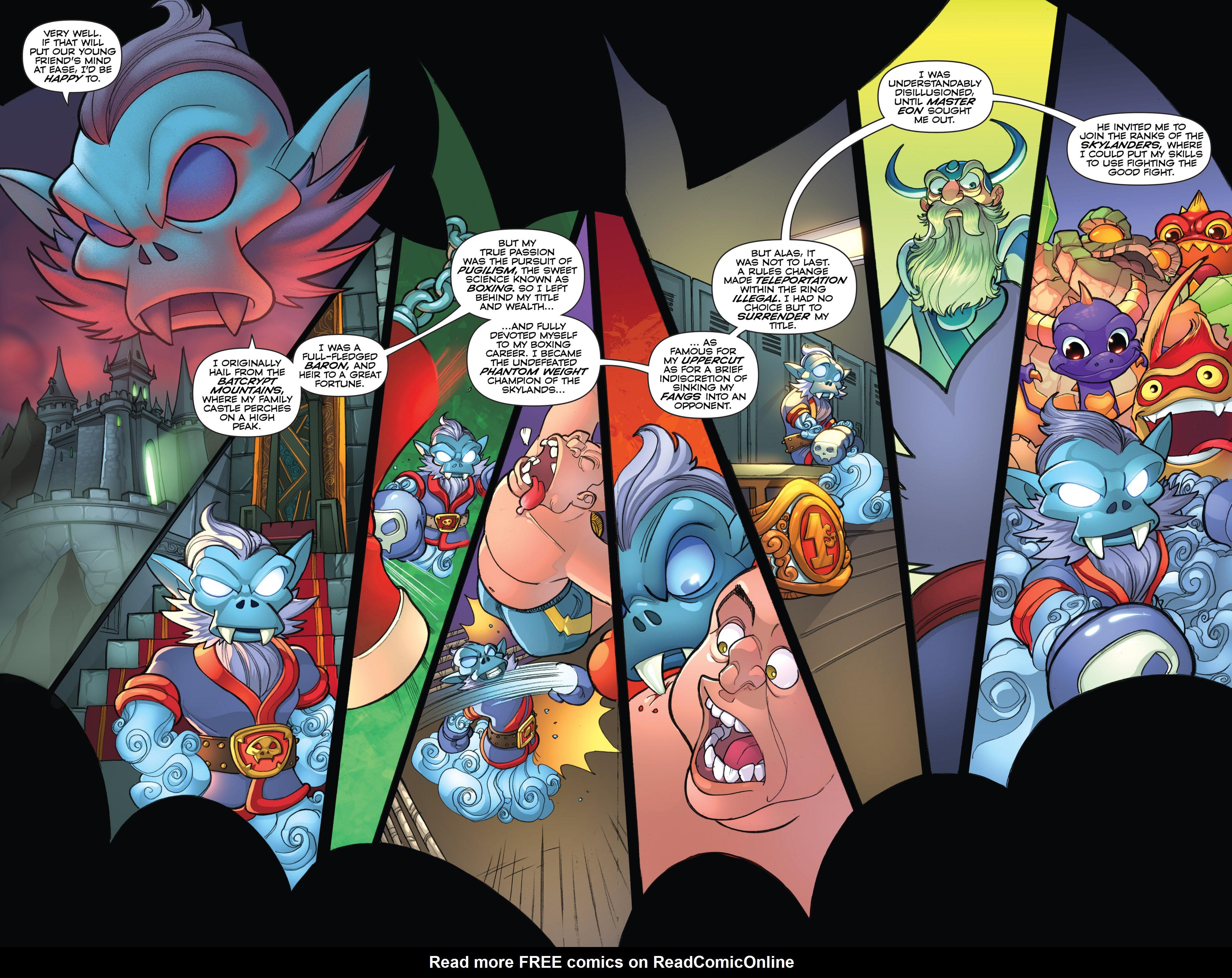 Read online Skylanders comic -  Issue #2 - 20
