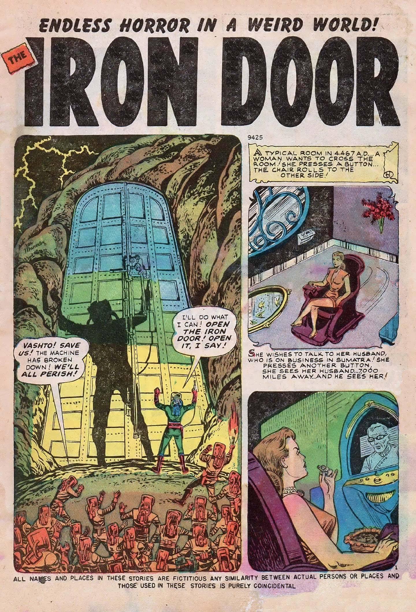 Read online Adventures into Weird Worlds comic -  Issue #2 - 3