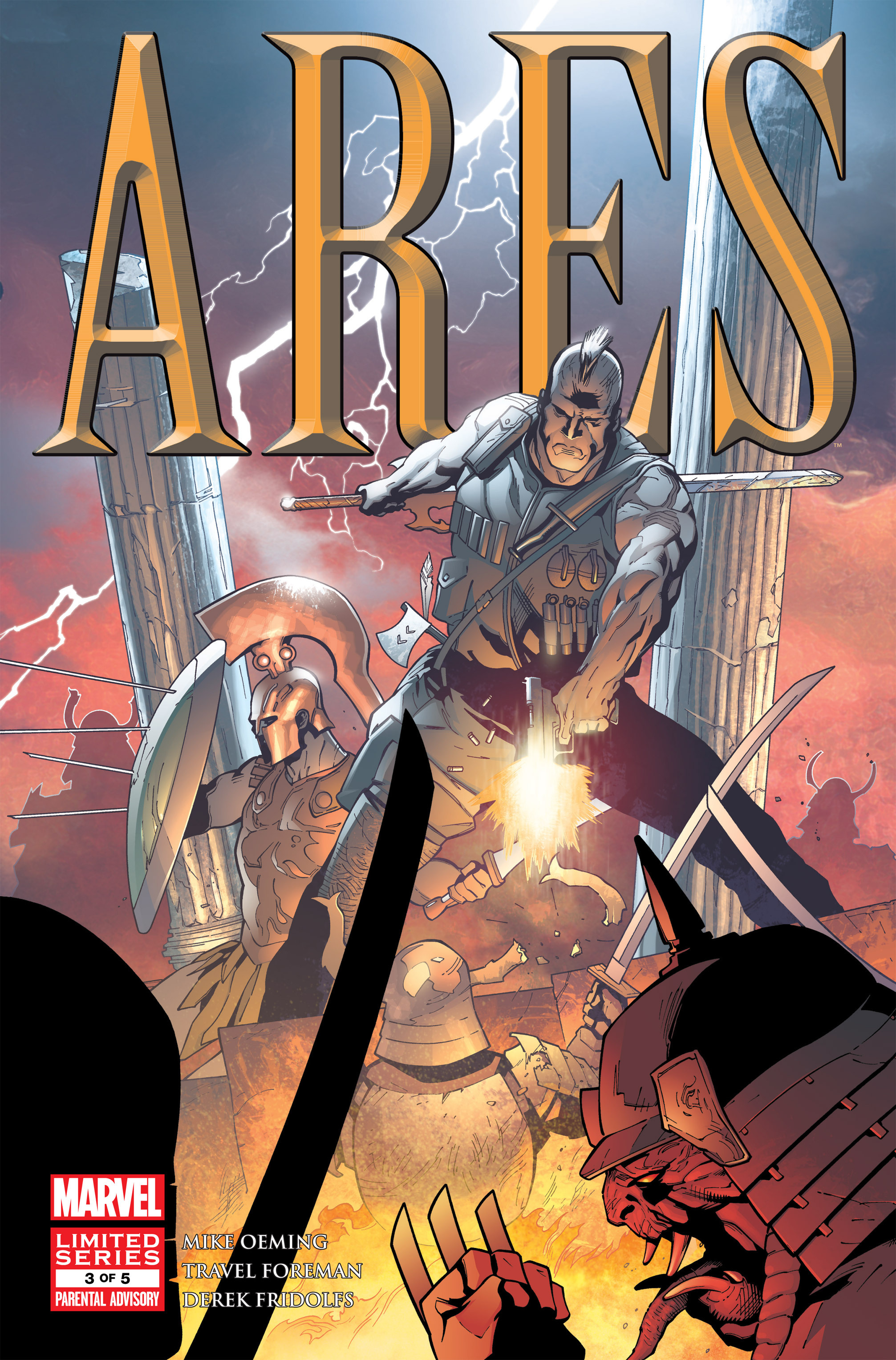 Read online Ares comic -  Issue #3 - 1