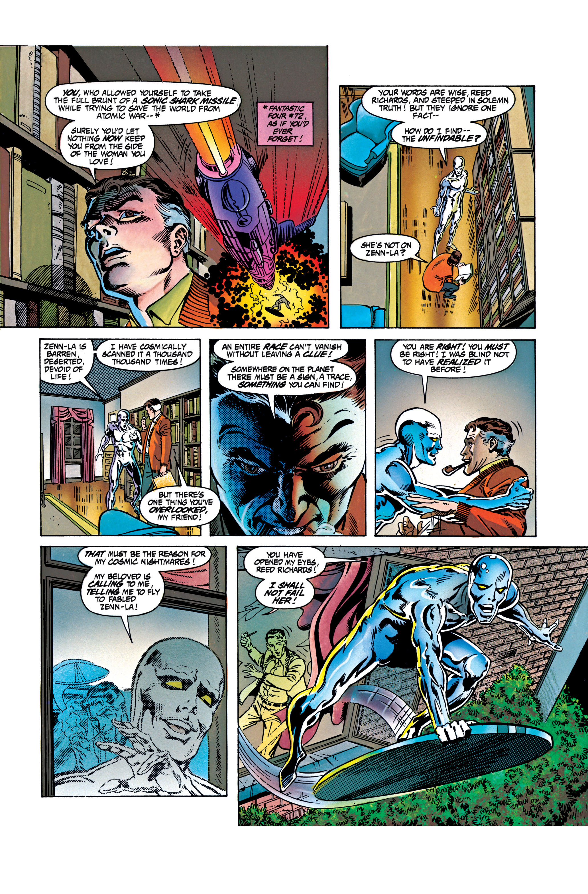 Read online Silver Surfer: Parable comic -  Issue # TPB - 73