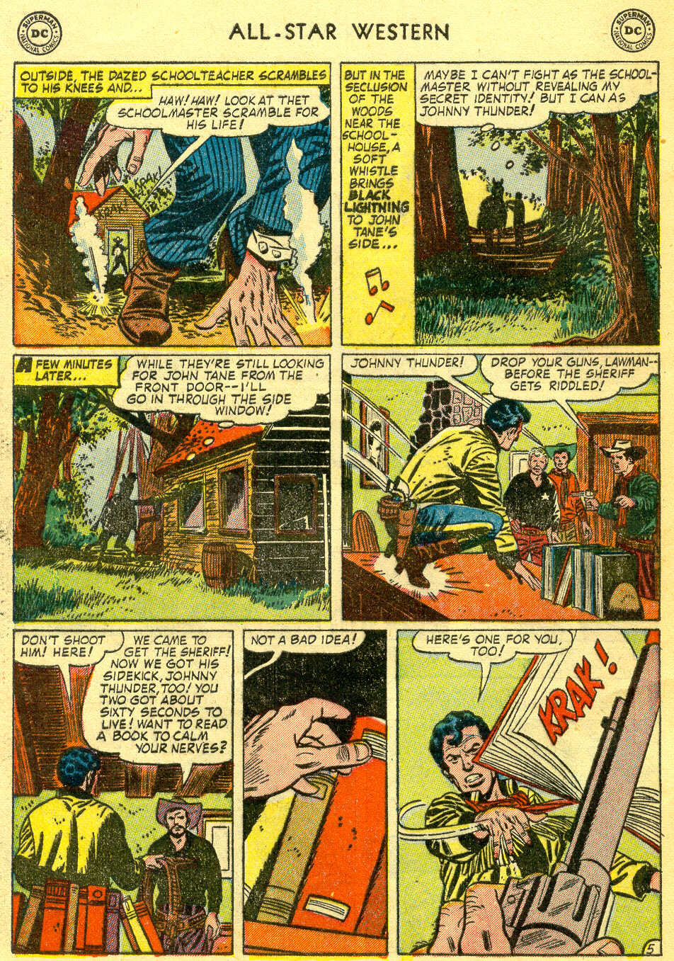 Read online All-Star Western (1951) comic -  Issue #78 - 32