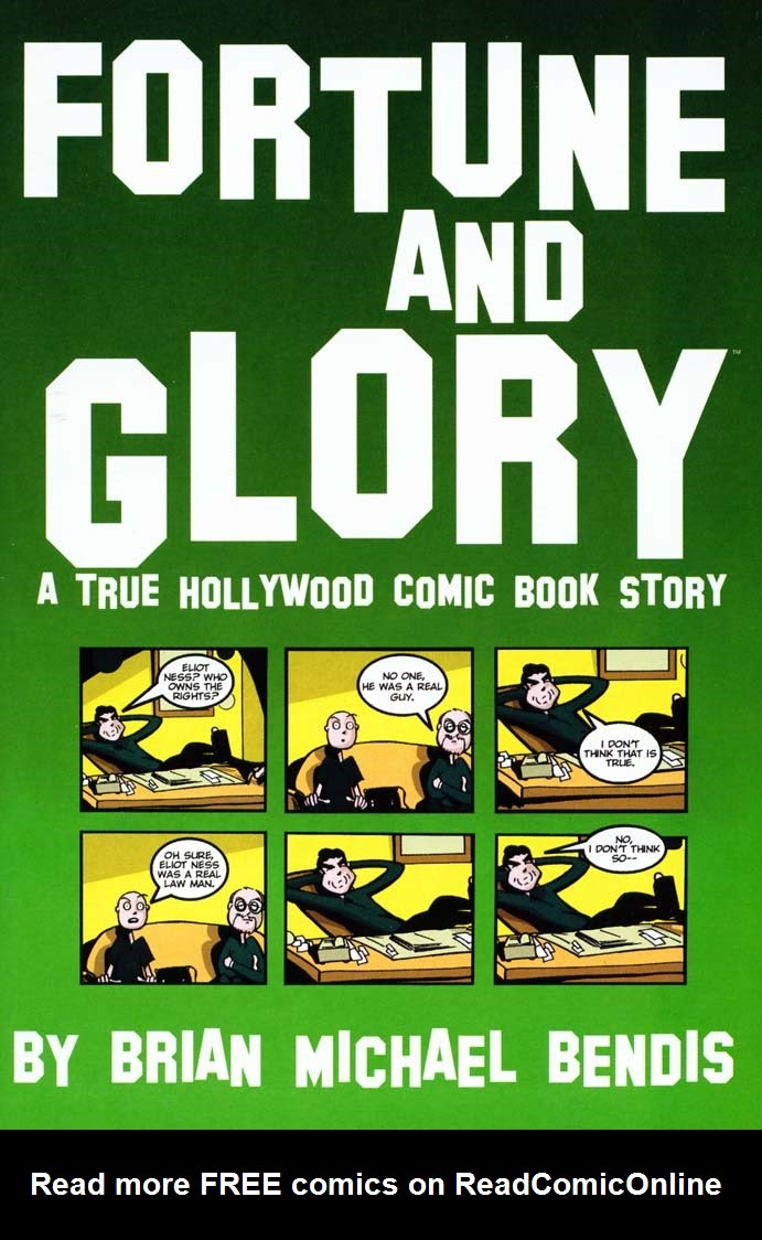 Read online Fortune and Glory comic -  Issue #3 - 1