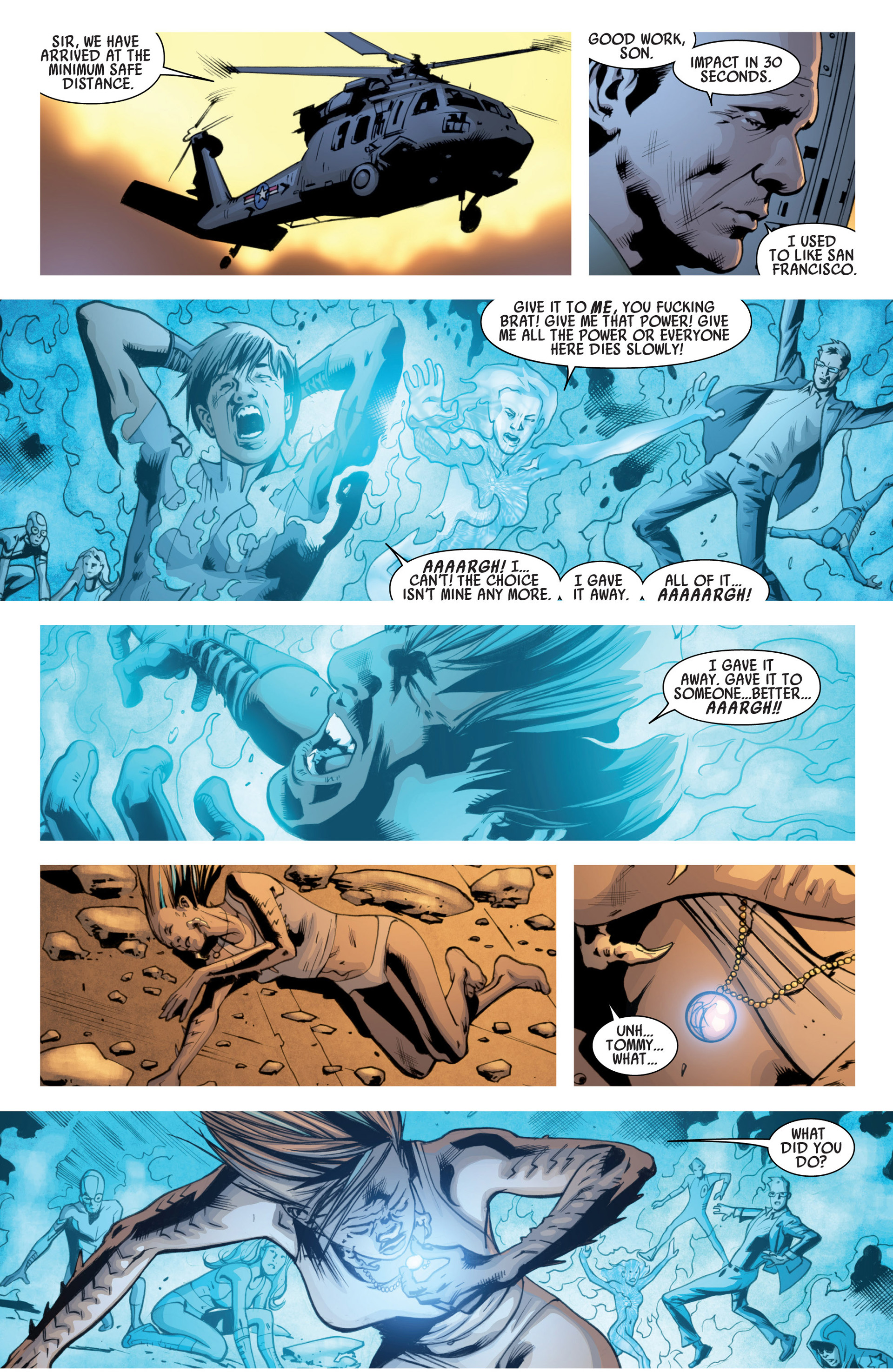 Read online America's Got Powers comic -  Issue #7 - 17