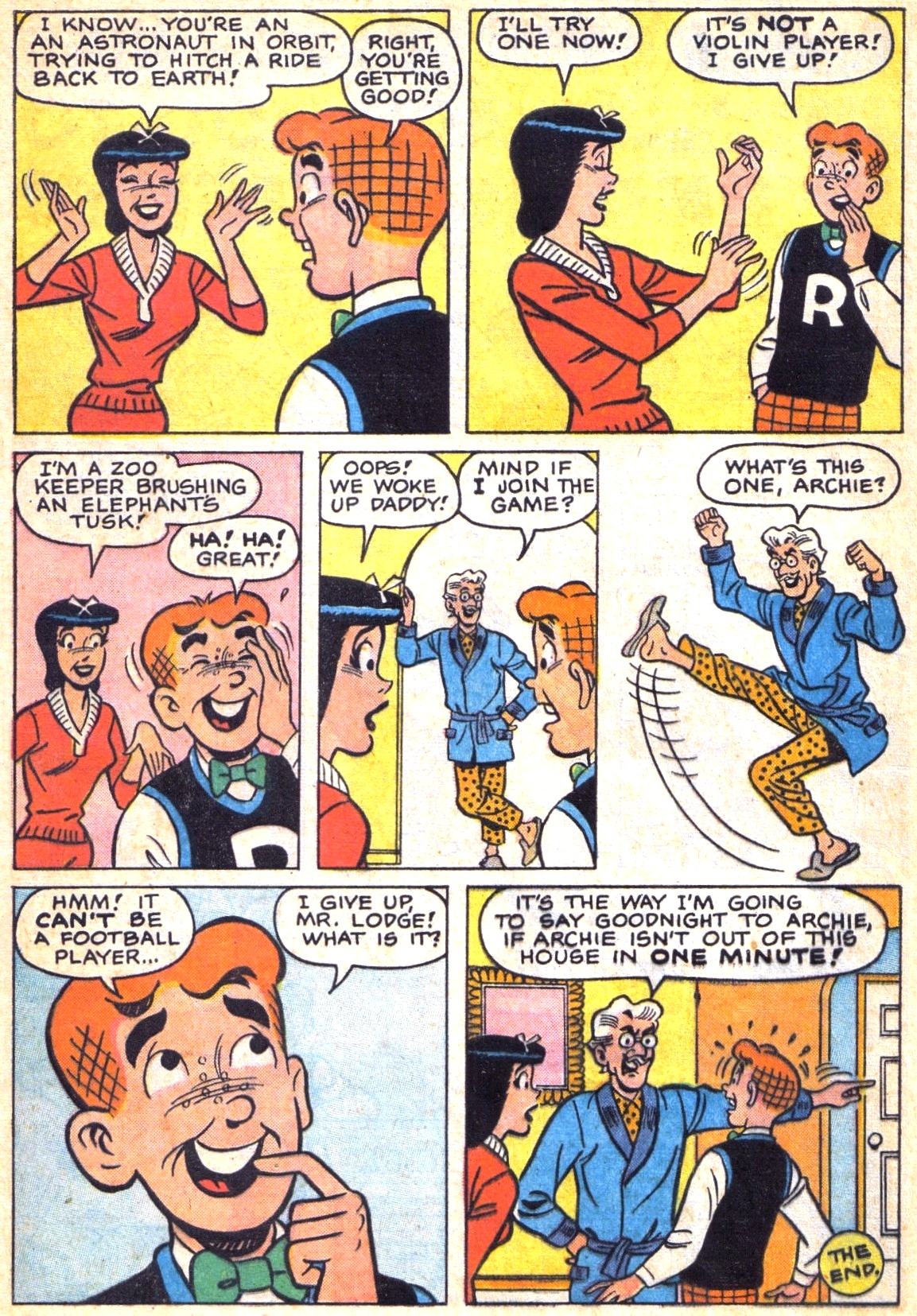 Read online Archie (1960) comic -  Issue #138 - 24