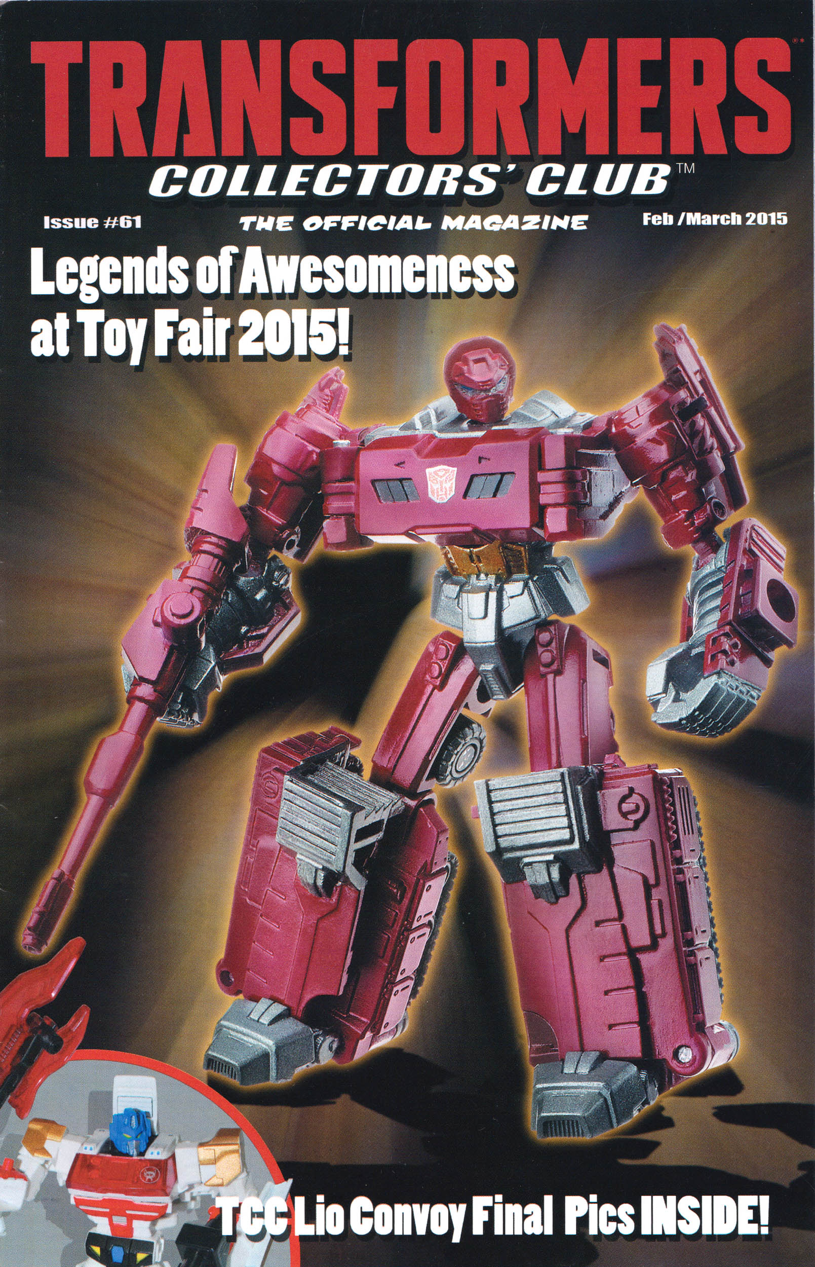 Read online Transformers: Collectors' Club comic -  Issue #61 - 1