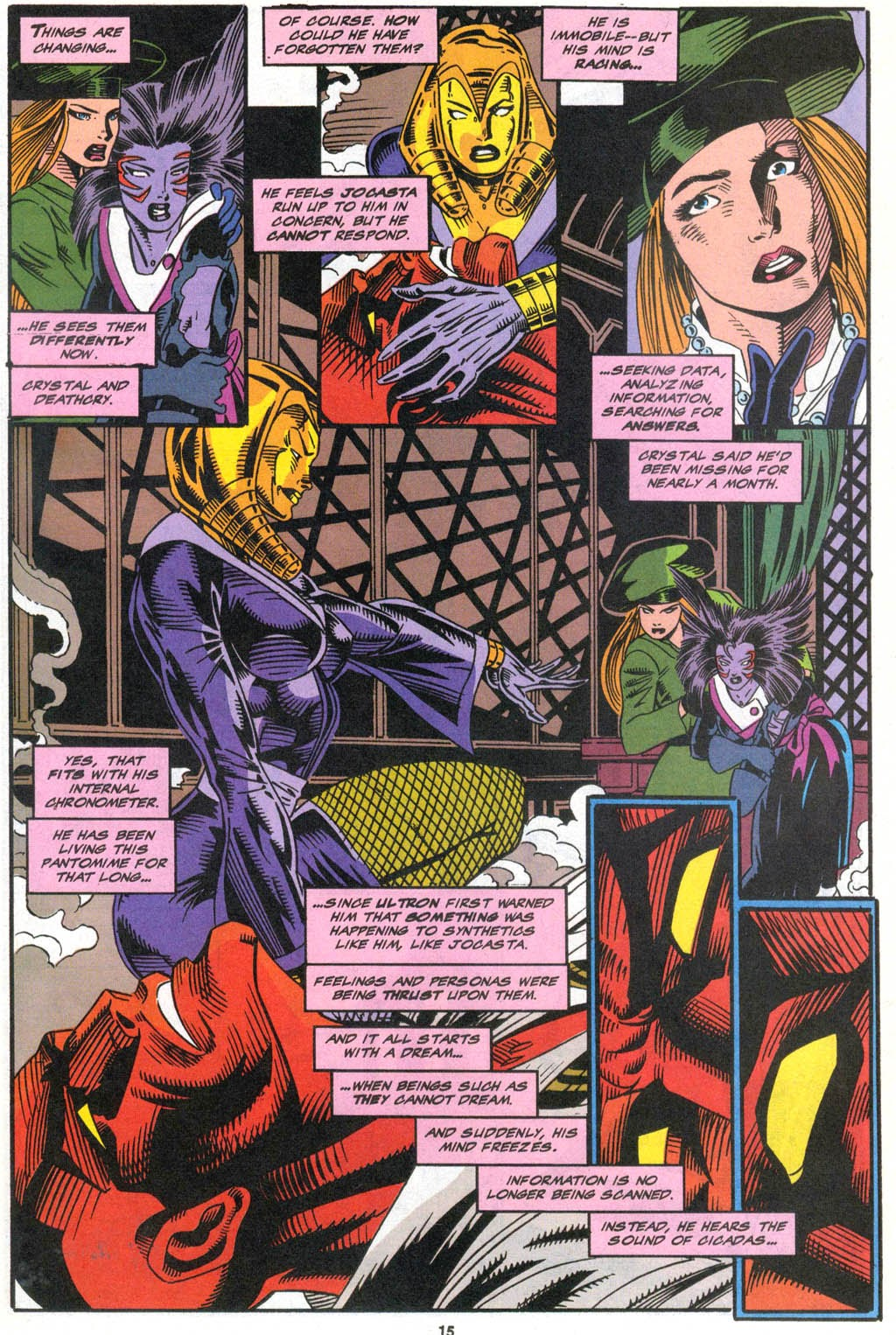 Read online The Vision comic -  Issue #2 - 12