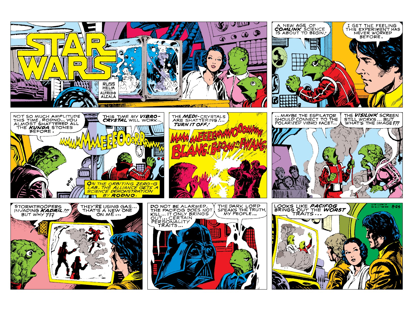 Read online Star Wars Legends: The Newspaper Strips - Epic Collection comic -  Issue # TPB (Part 3) - 86