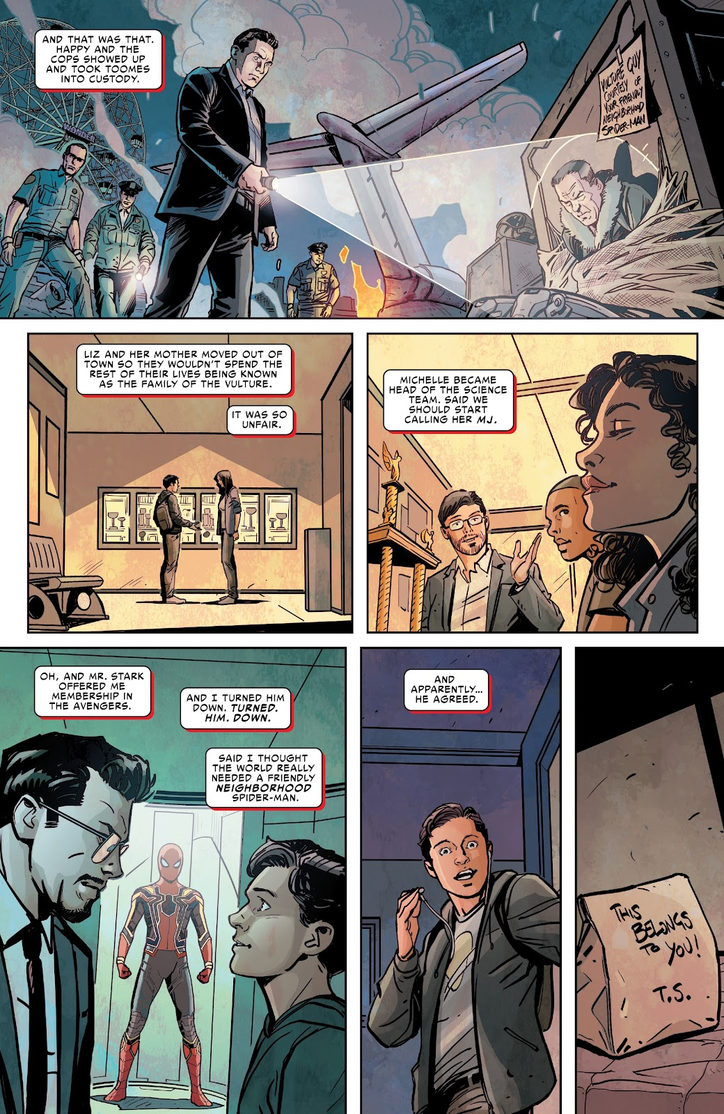 Read online Spider-Man: Far From Home Prelude comic -  Issue #2 - 22