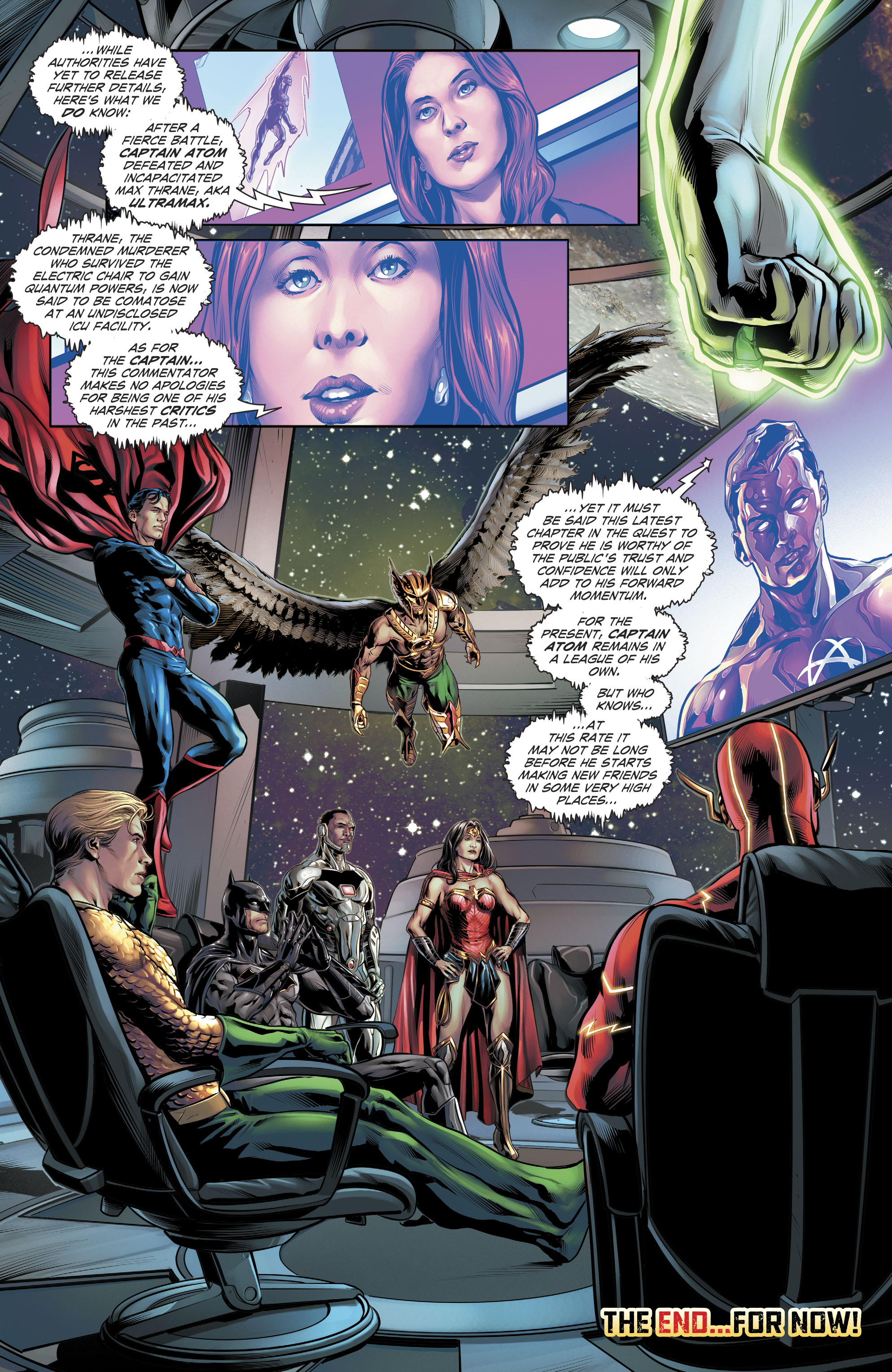 Read online The Fall and Rise of Captain Atom comic -  Issue #6 - 22