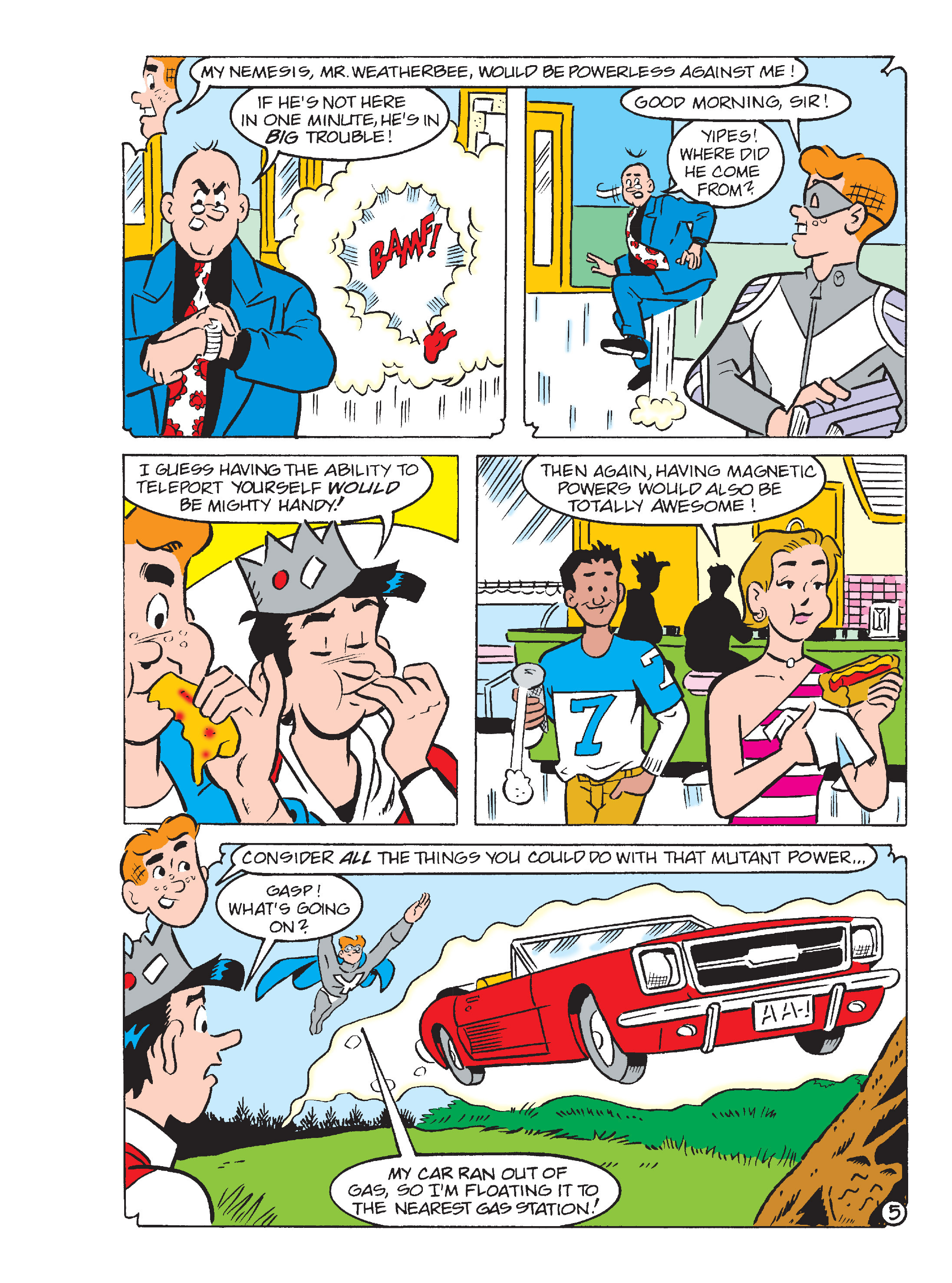 Read online Archie's Funhouse Double Digest comic -  Issue #13 - 151