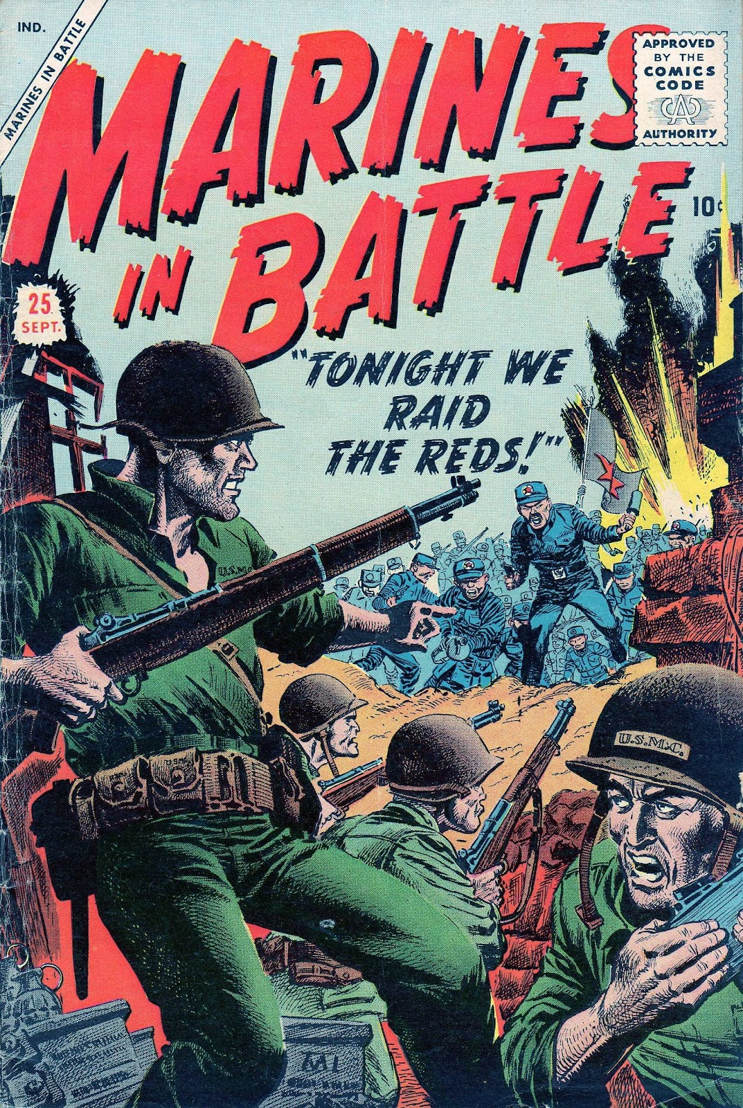 Marines in Battle issue 25 - Page 1