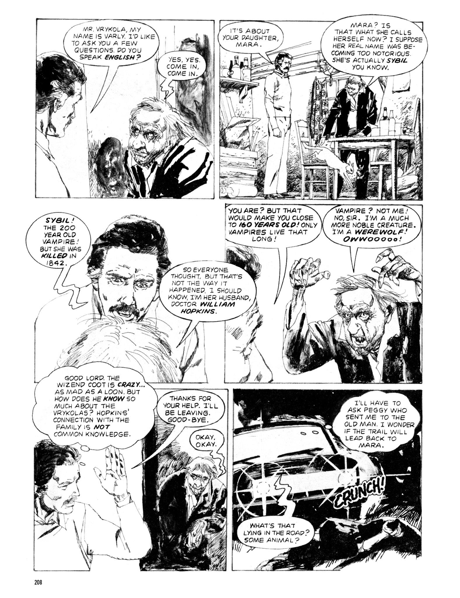 Read online Eerie Archives comic -  Issue # TPB 20 - 208