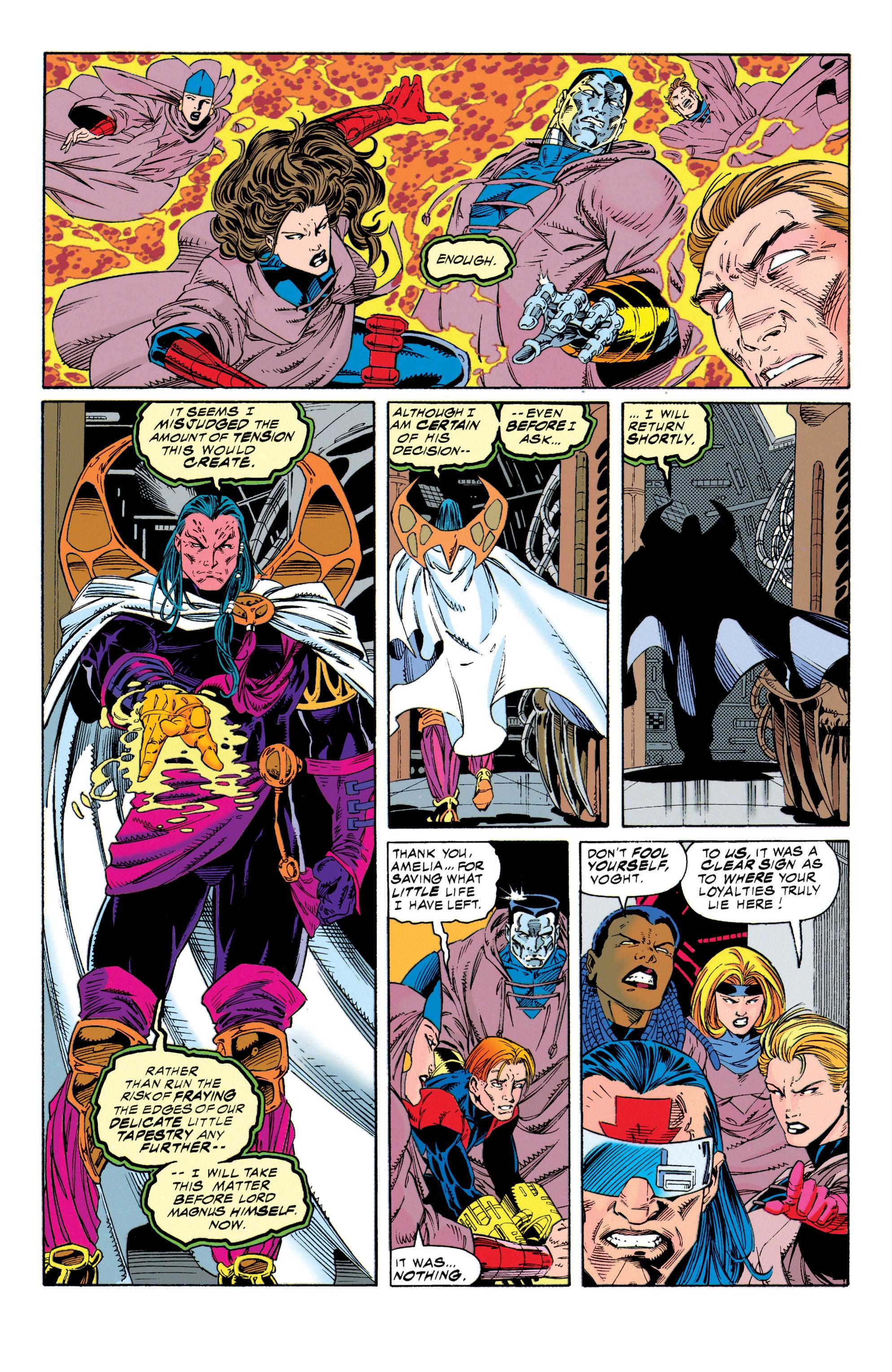 Read online Uncanny X-Men (1963) comic -  Issue #315 - 16