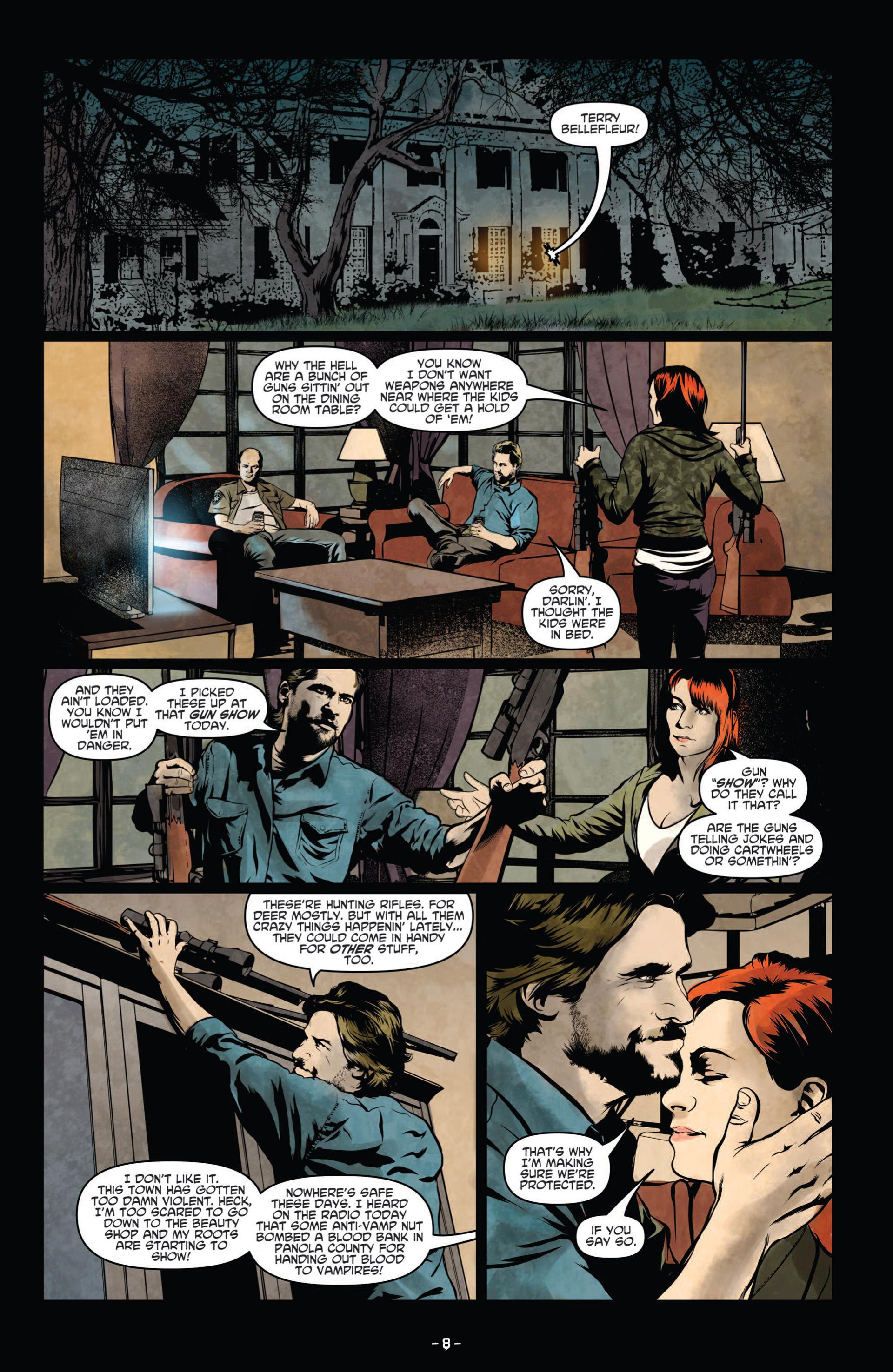 Read online True Blood (2012) comic -  Issue #8 - 10