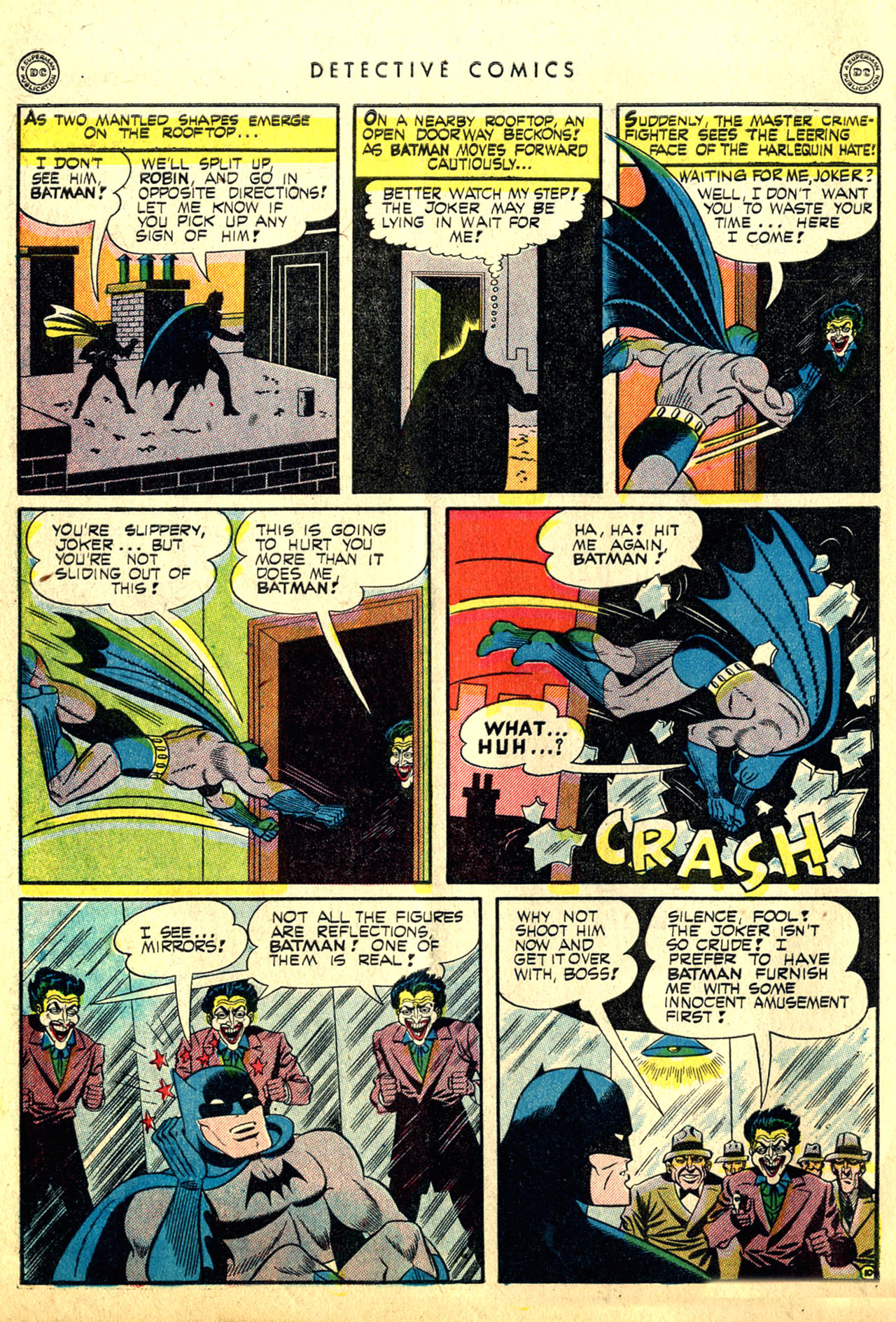 Read online Detective Comics (1937) comic -  Issue #91 - 12