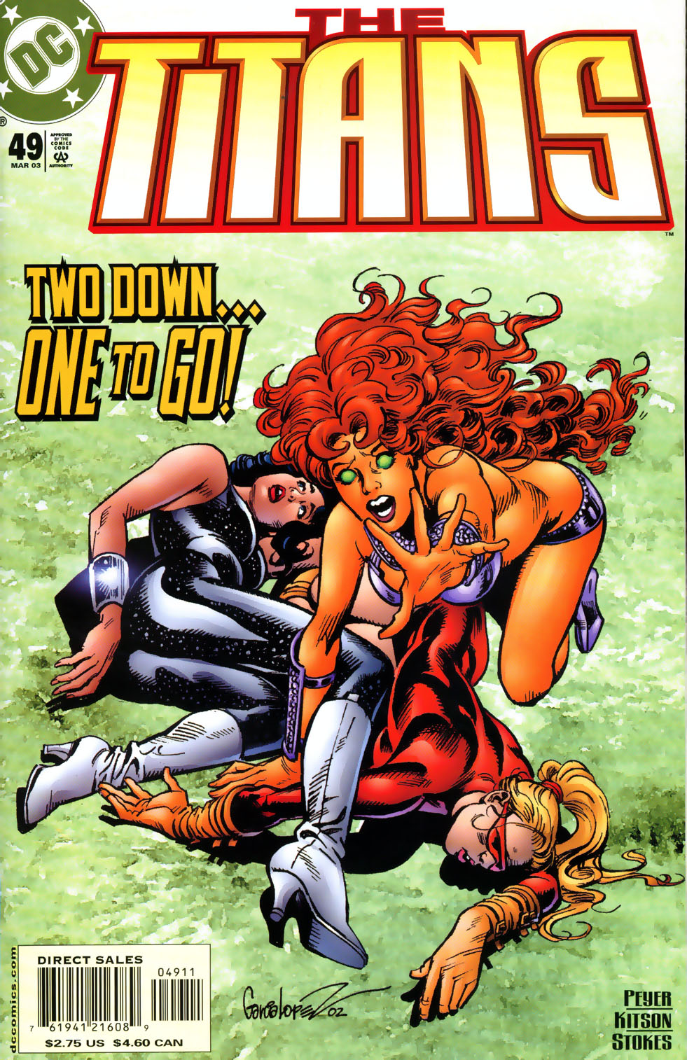Read online The Titans (1999) comic -  Issue #49 - 1