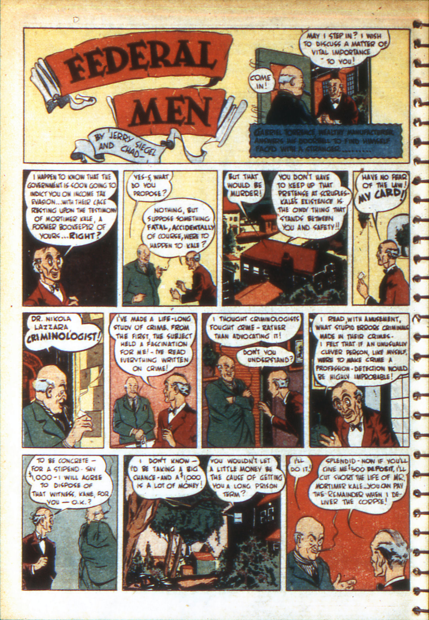 Read online Adventure Comics (1938) comic -  Issue #49 - 18