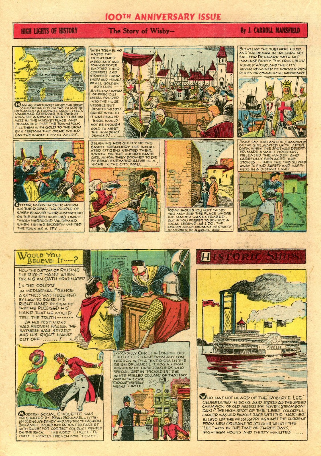 Read online Famous Funnies comic -  Issue #100 - 36