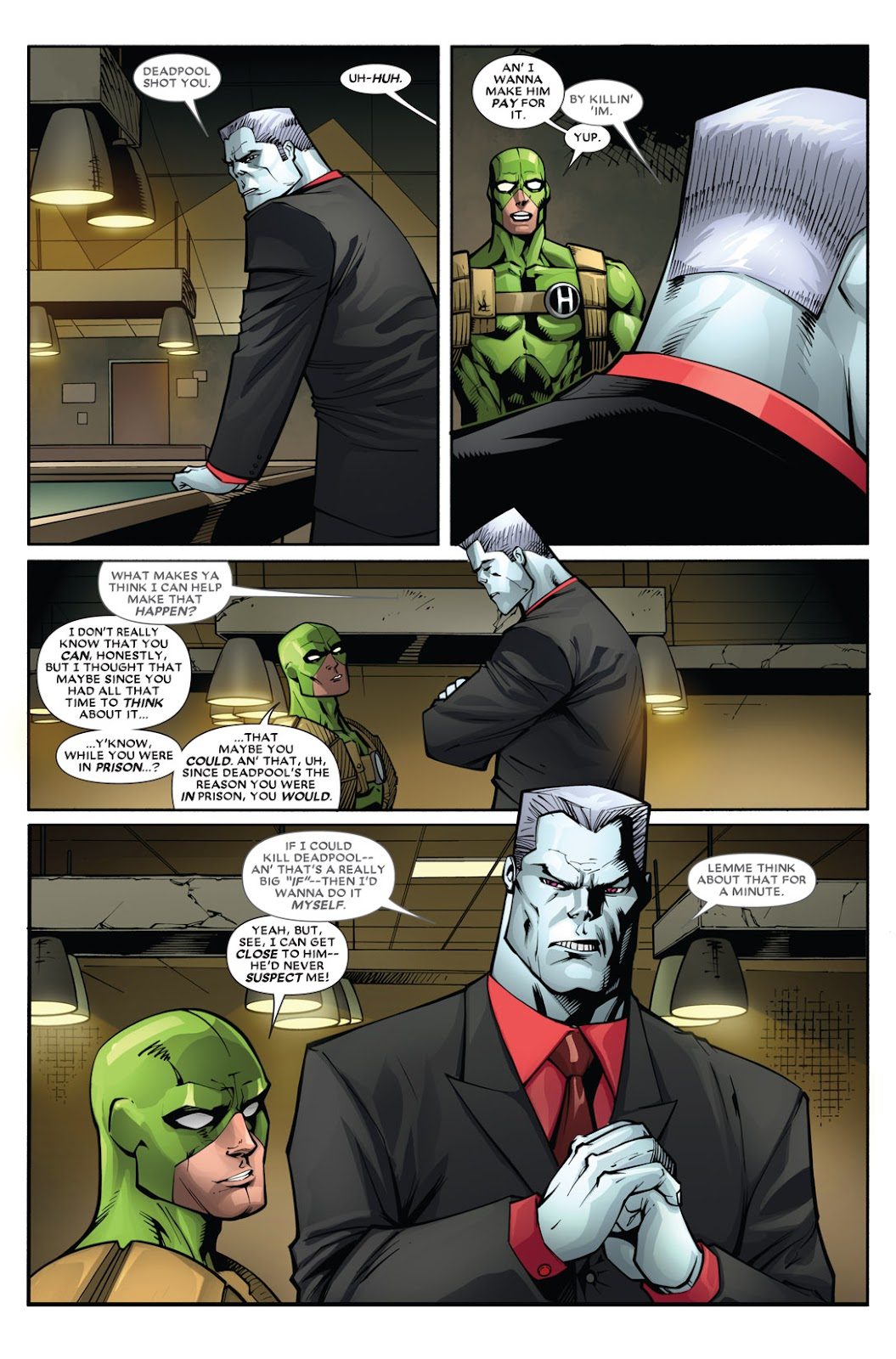Read online Deadpool (2008) comic -  Issue #51 - 16