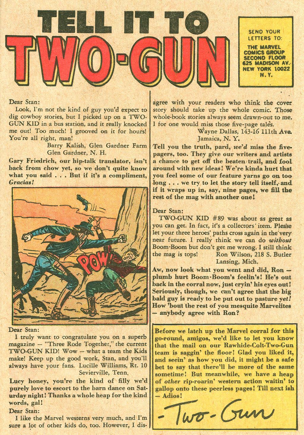 Read online Two-Gun Kid comic -  Issue #92 - 33