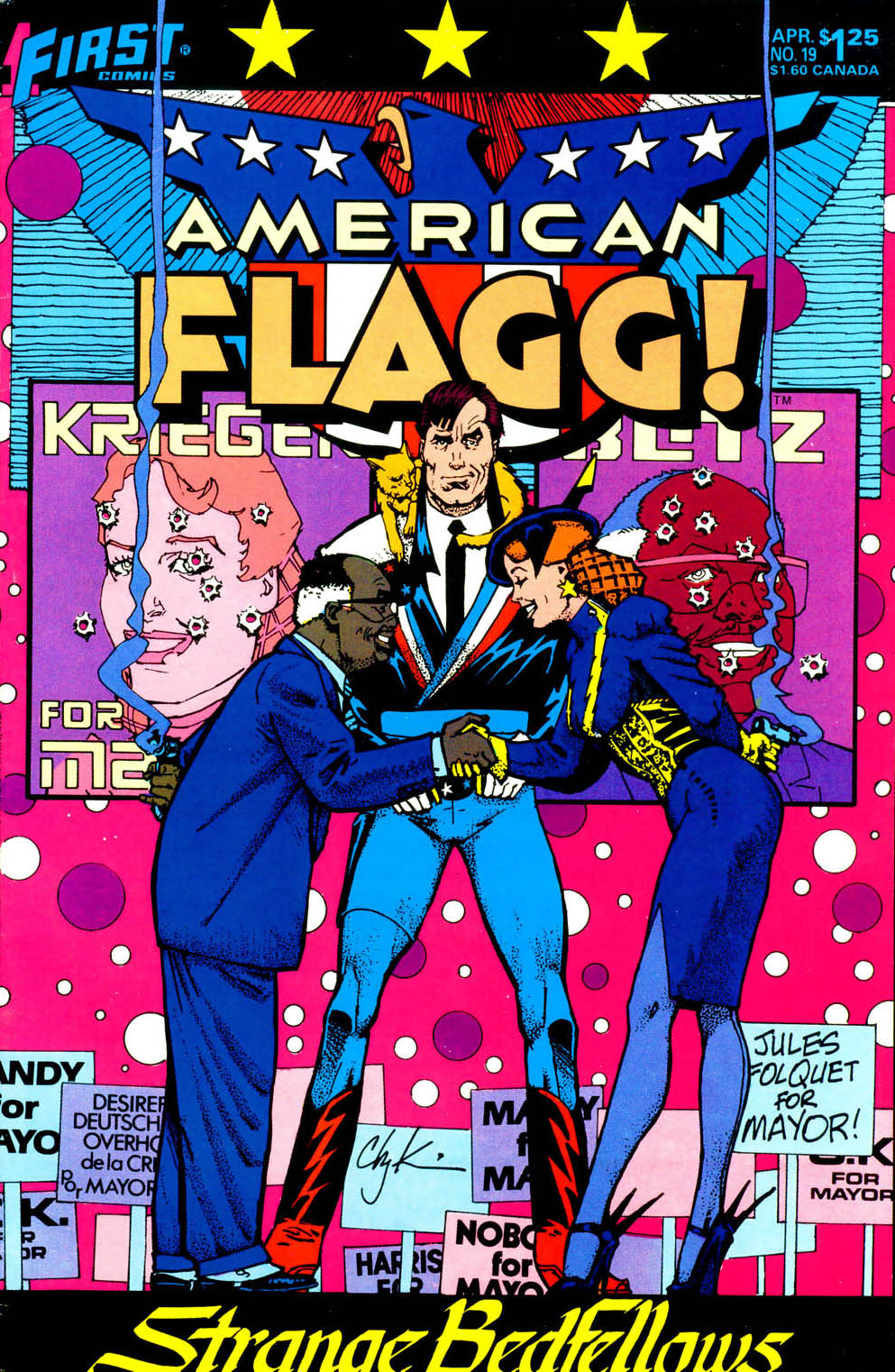 Read online American Flagg! comic -  Issue #19 - 1