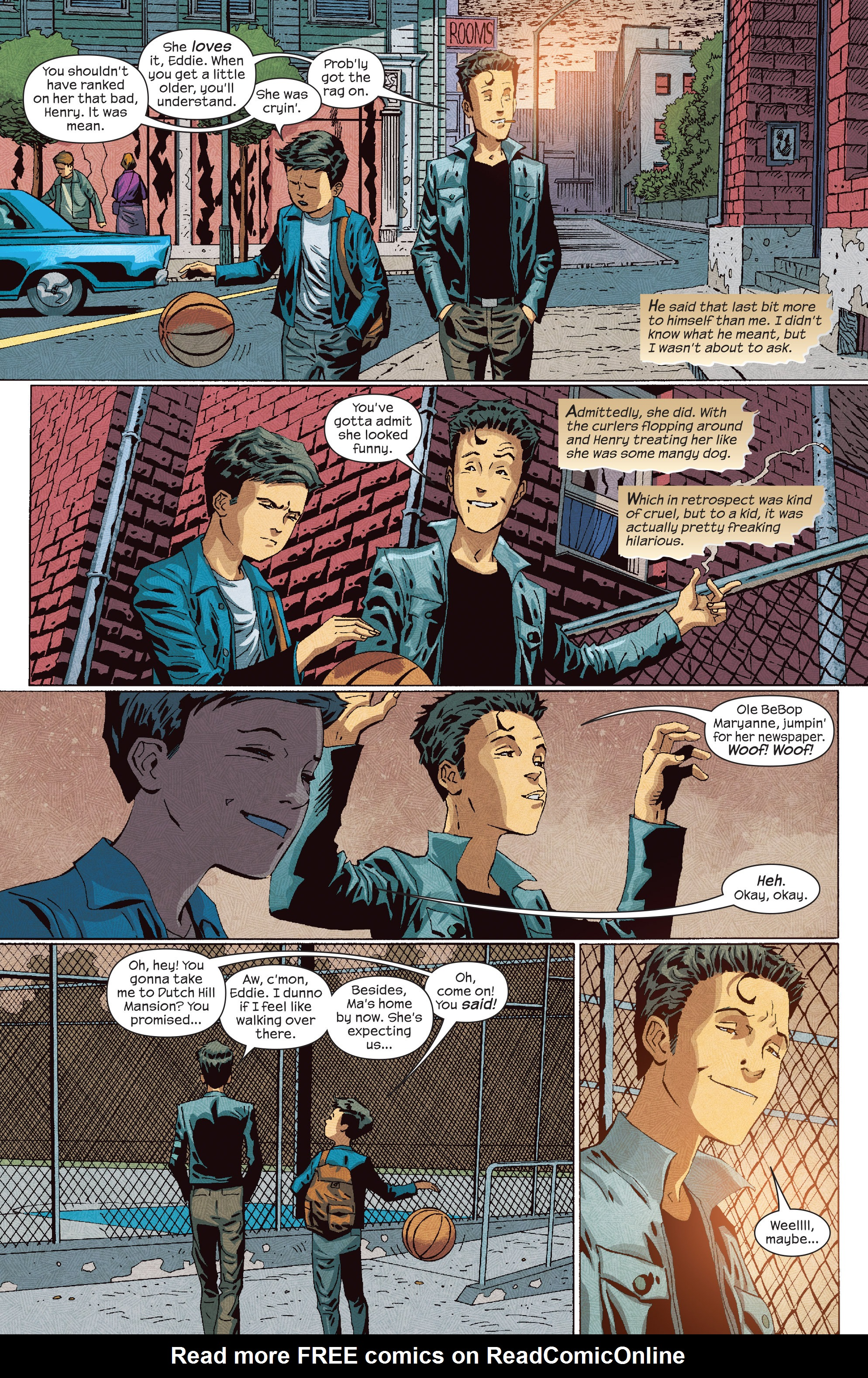 Read online Dark Tower: The Drawing of the Three - The Prisoner comic -  Issue #3 - 6