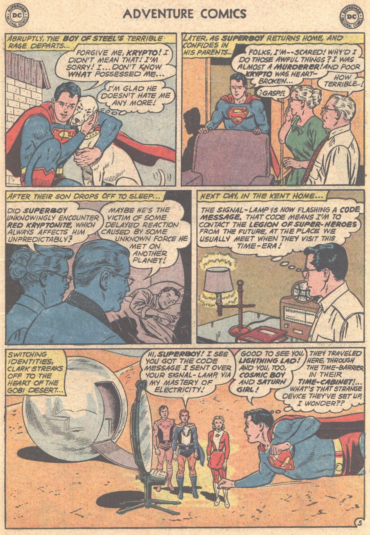Read online Adventure Comics (1938) comic -  Issue #293 - 7
