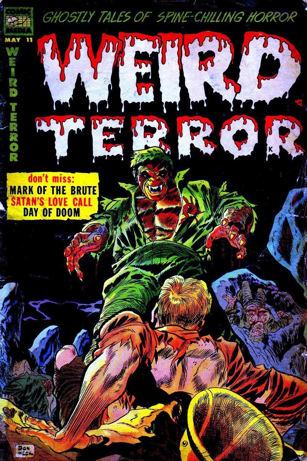 Weird Terror issue 11 - Page 1